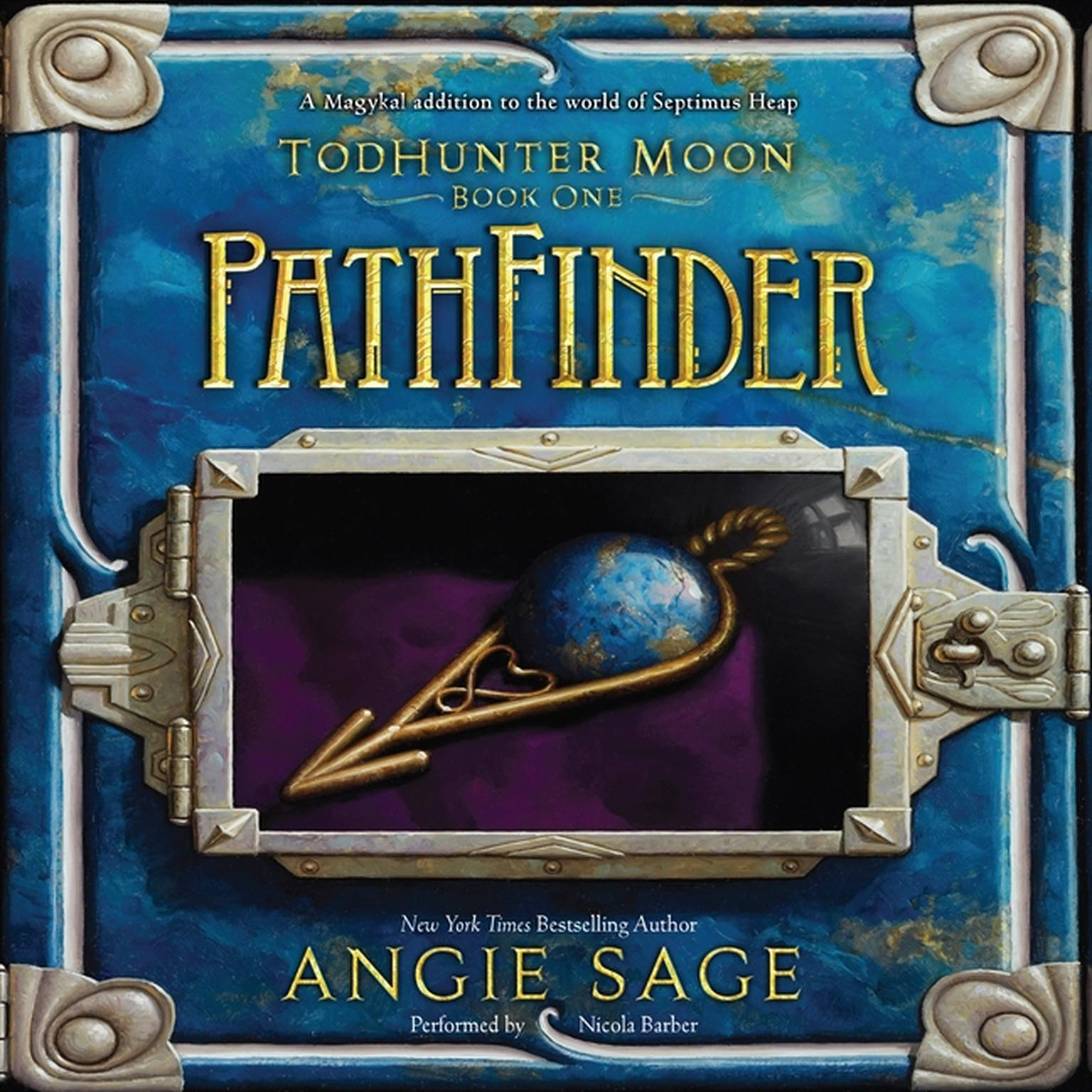 Printable PathFinder: TodHunter Moon, Book One Audiobook Cover Art