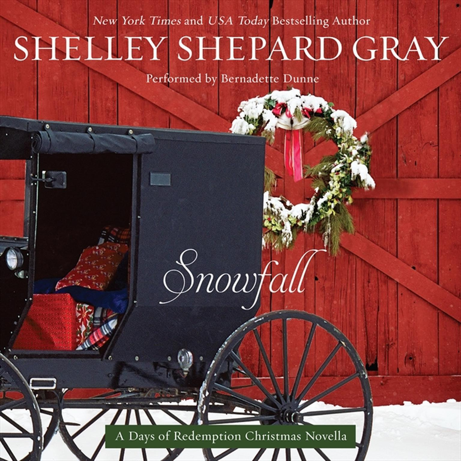 Printable Snowfall: A Days of Redemption Christmas Novella Audiobook Cover Art