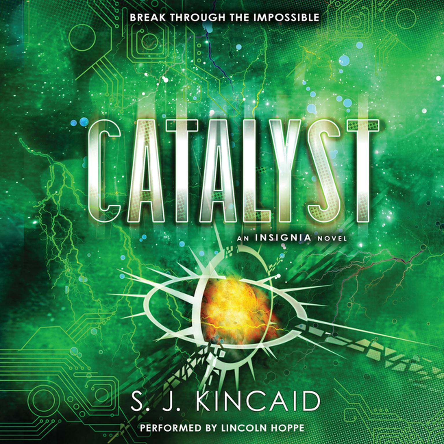 Printable Catalyst Audiobook Cover Art