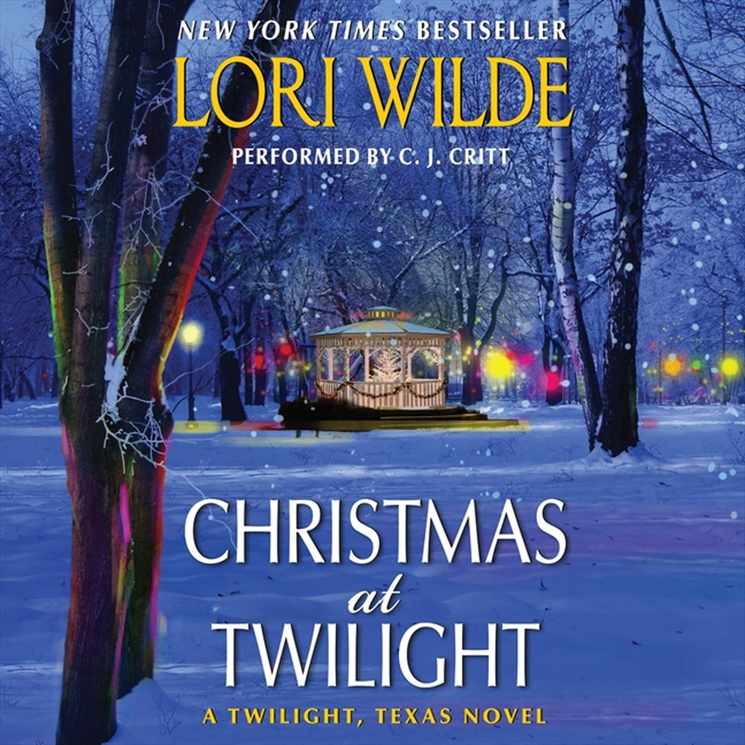 Printable Christmas at Twilight: A Twilight, Texas Novel Audiobook Cover Art
