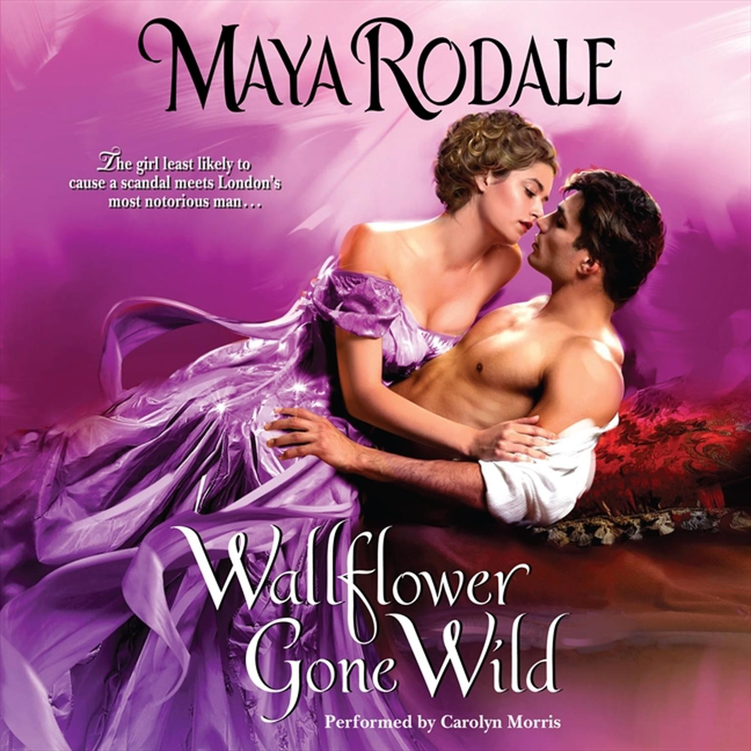 Printable Wallflower Gone Wild Audiobook Cover Art