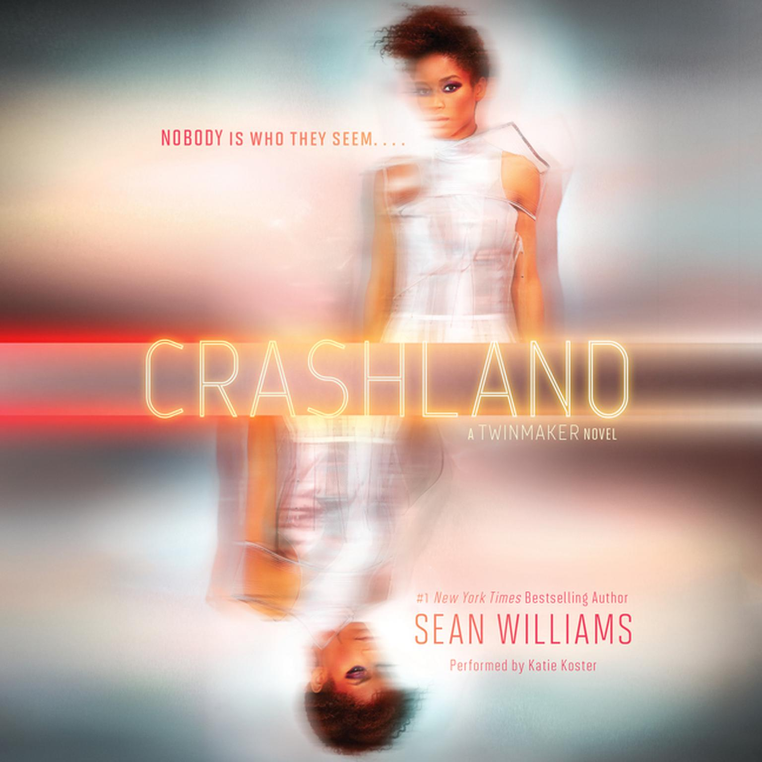 Printable Crashland: A Twinmaker Novel Audiobook Cover Art