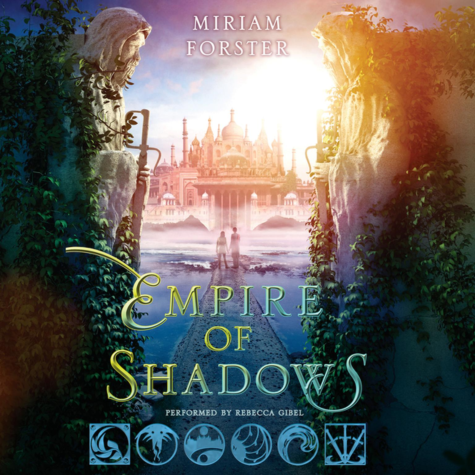 Printable Empire of Shadows Audiobook Cover Art