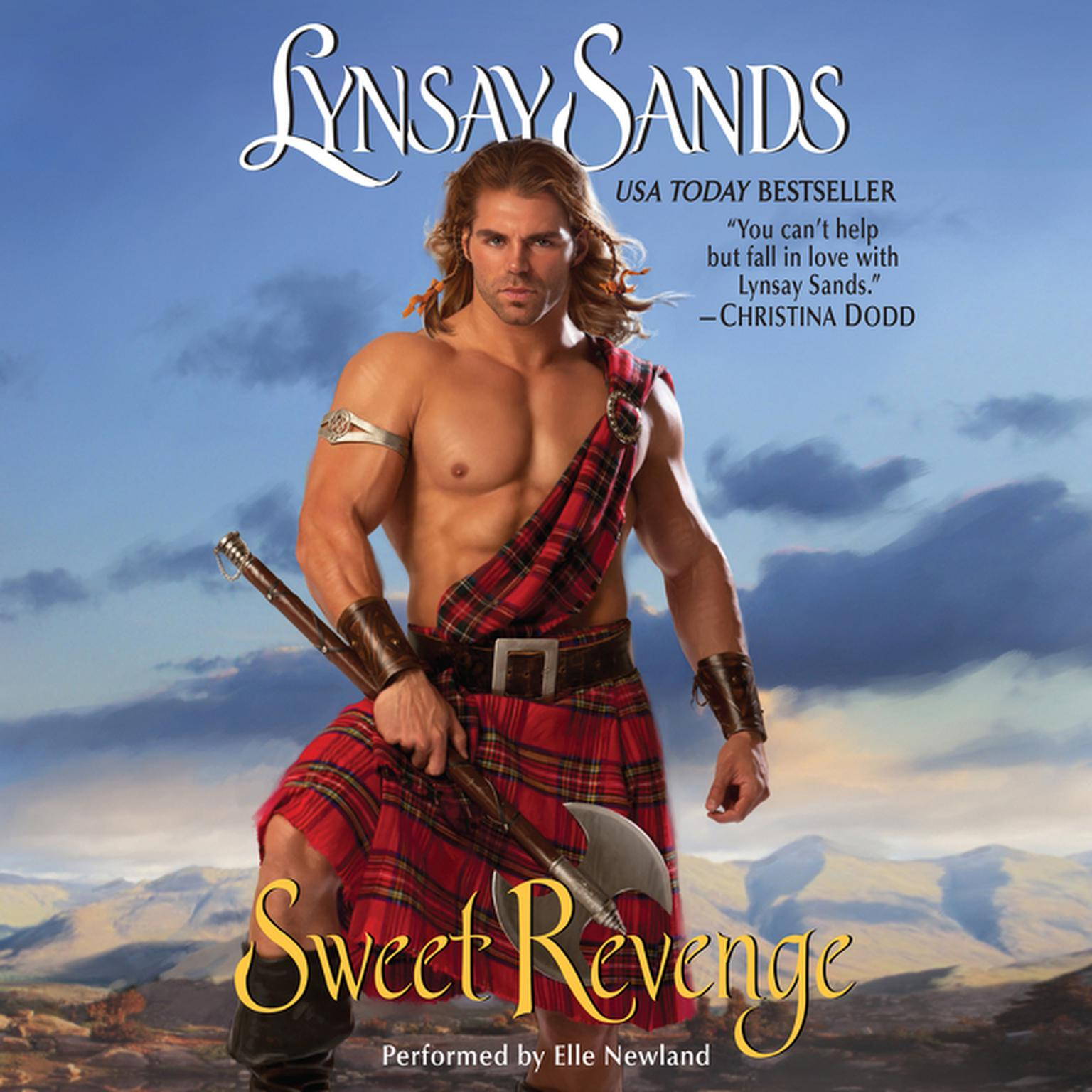 Printable Sweet Revenge Audiobook Cover Art