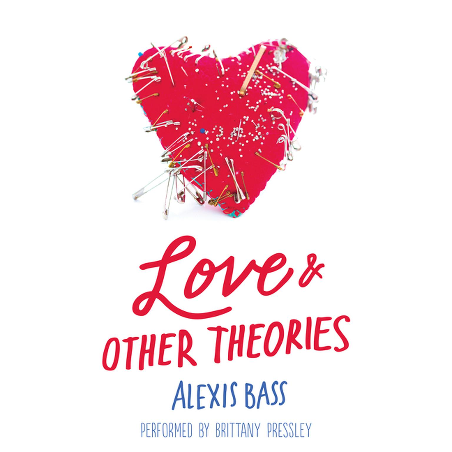 Printable Love and Other Theories Audiobook Cover Art