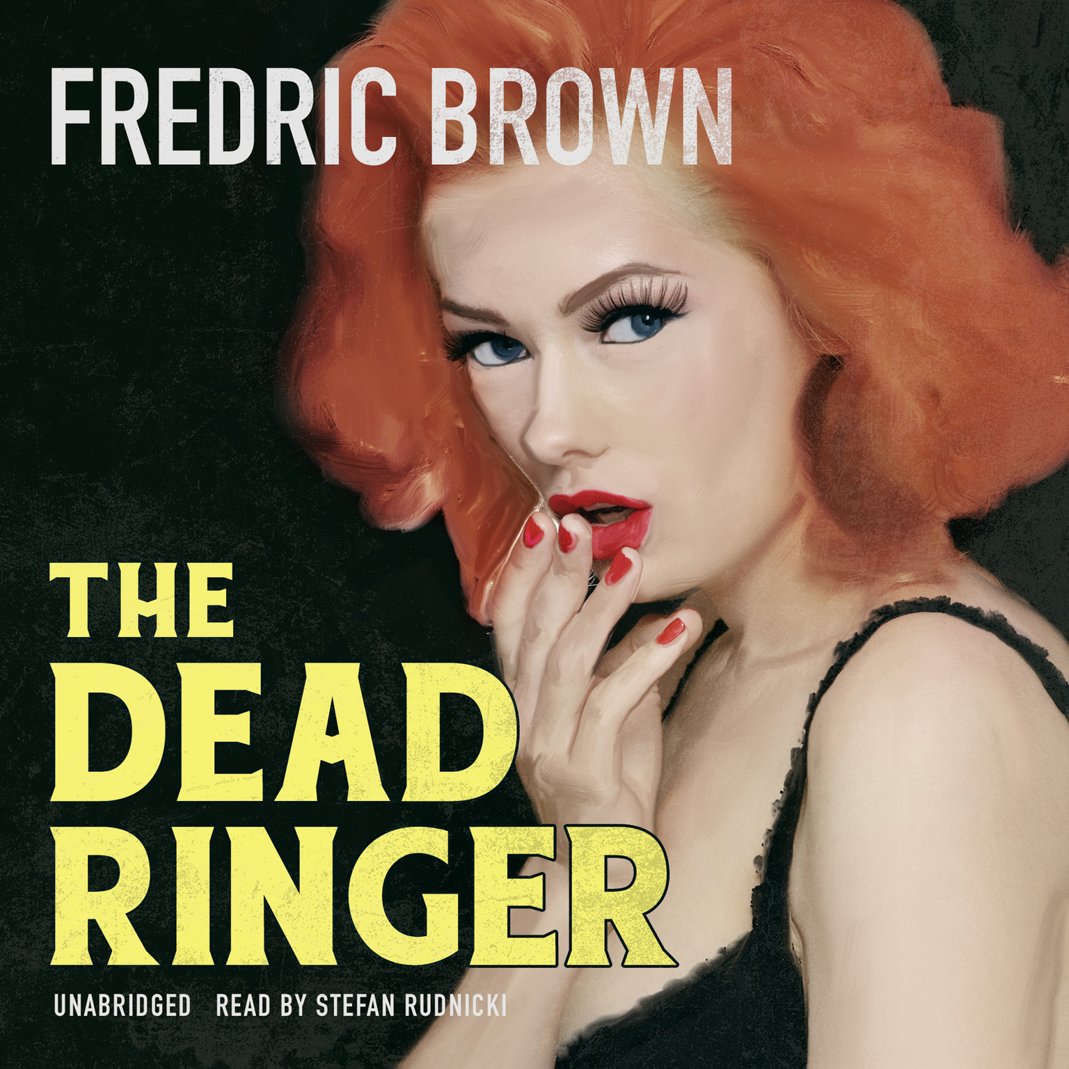 Printable The Dead Ringer Audiobook Cover Art