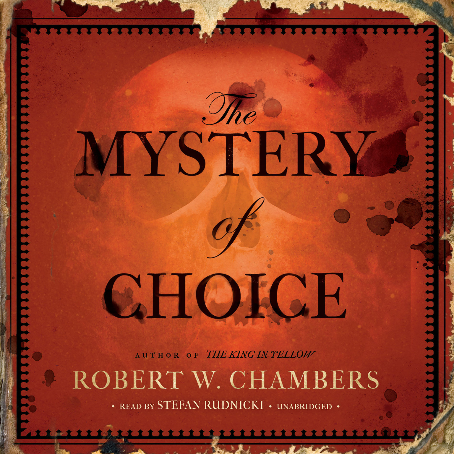 Printable The Mystery of Choice Audiobook Cover Art