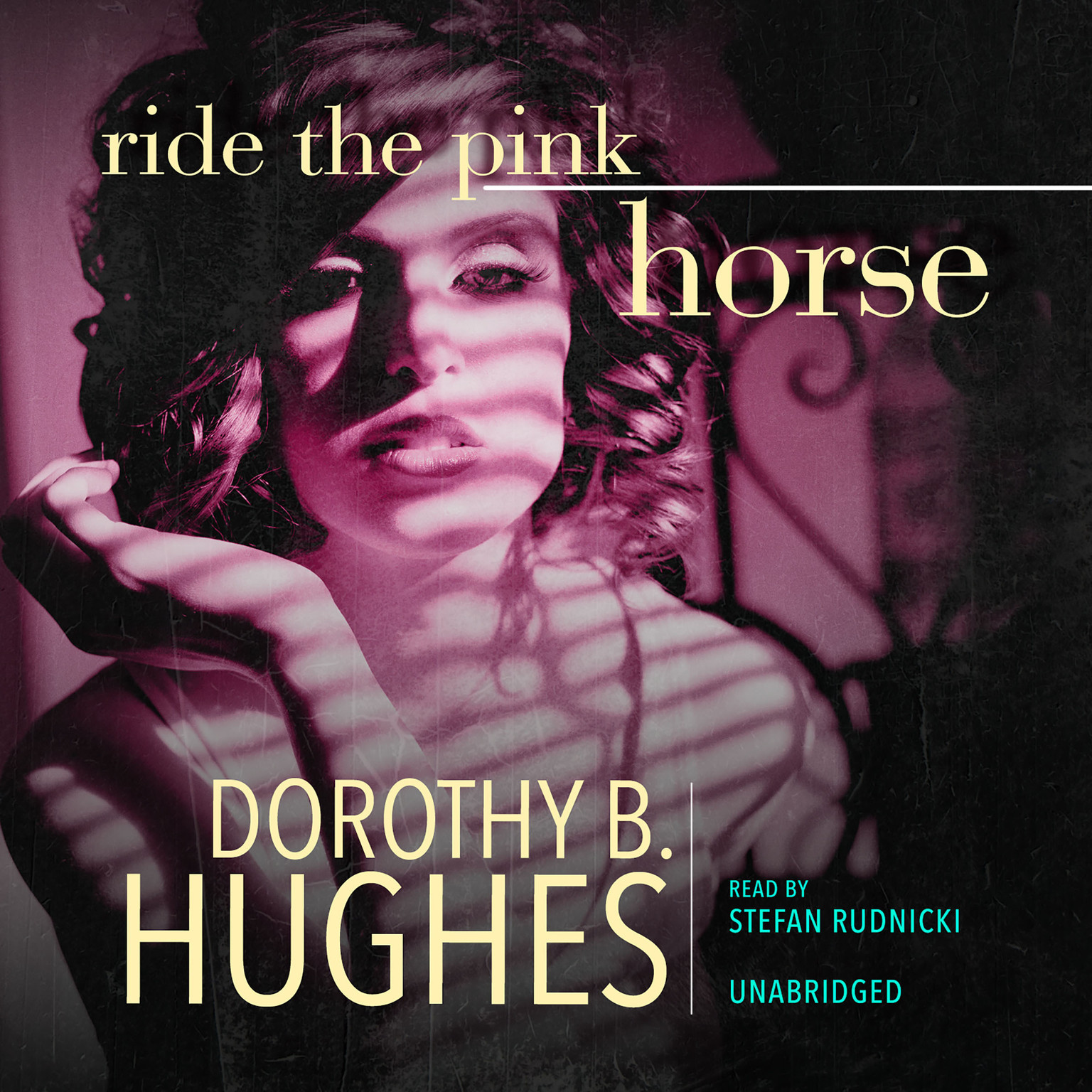 Printable Ride the Pink Horse Audiobook Cover Art