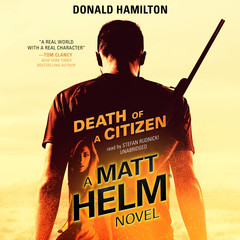 Death of a Citizen Audiobook, by Donald Hamilton