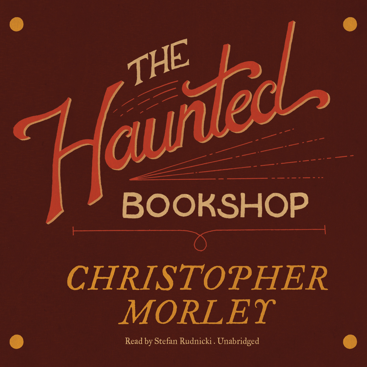 Printable The Haunted Bookshop Audiobook Cover Art