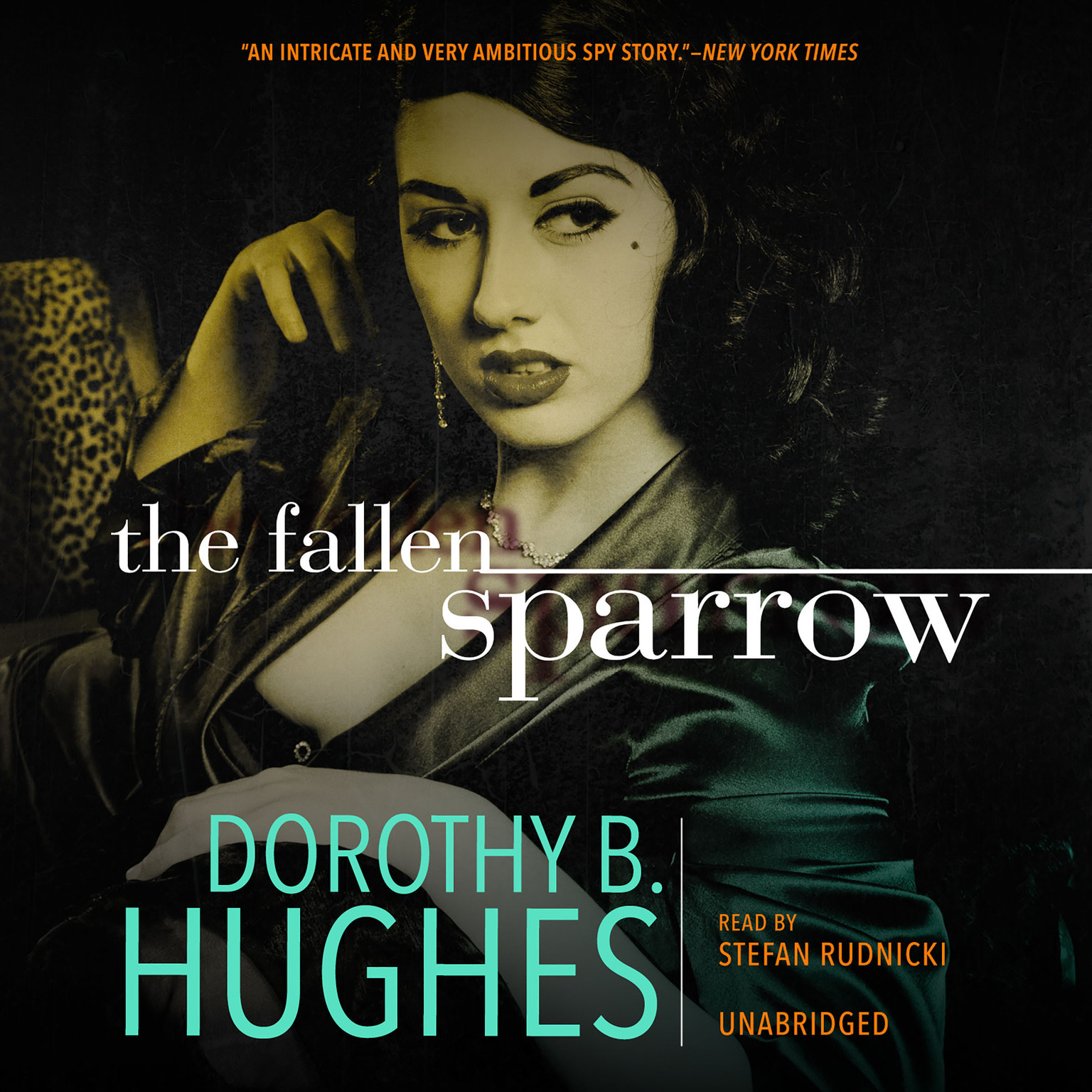 Printable The Fallen Sparrow Audiobook Cover Art