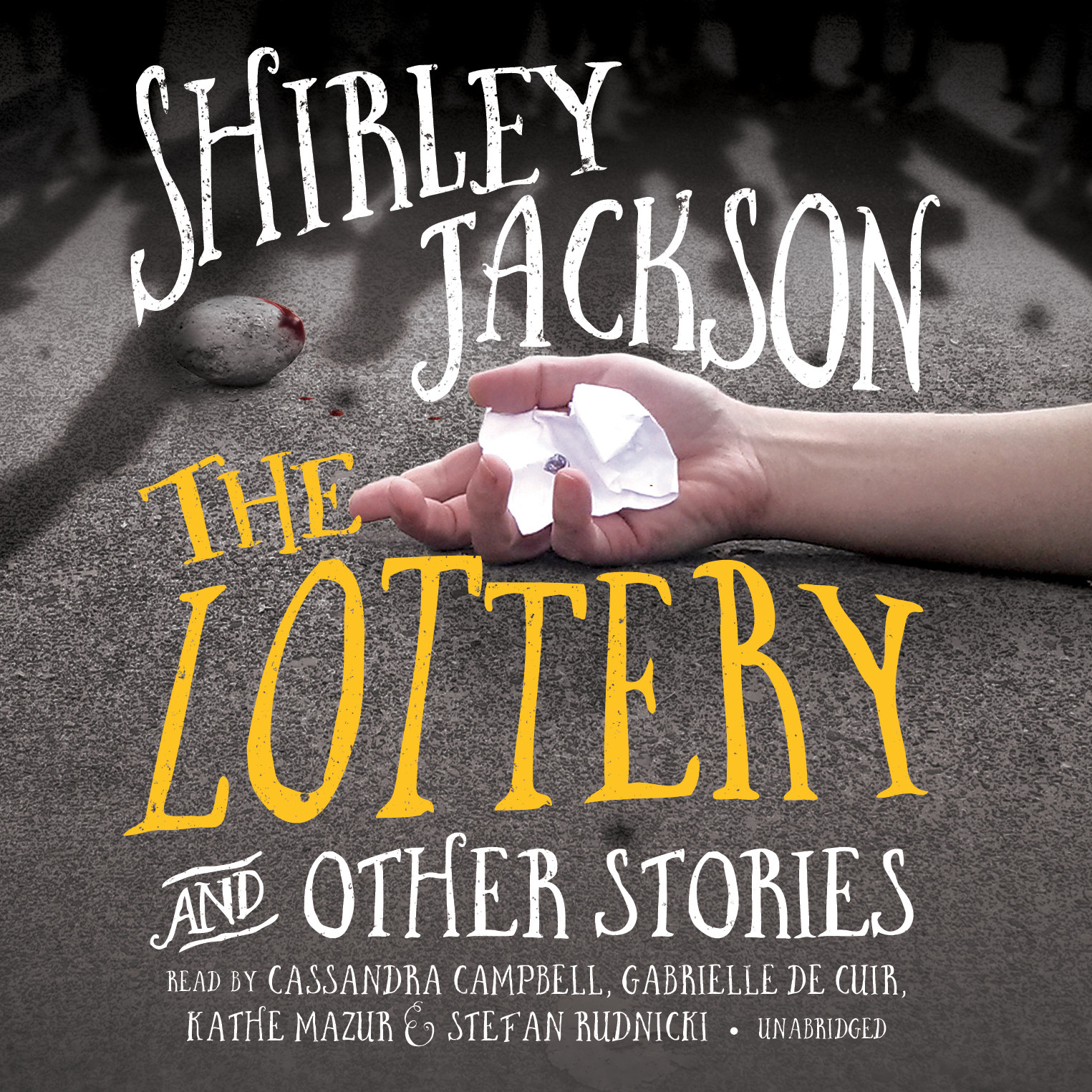 Printable The Lottery, and Other Stories Audiobook Cover Art