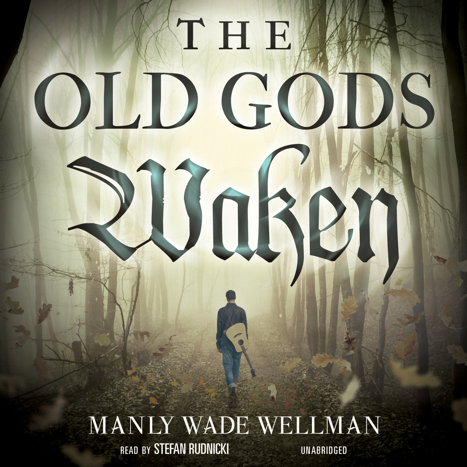 Printable The Old Gods Waken Audiobook Cover Art