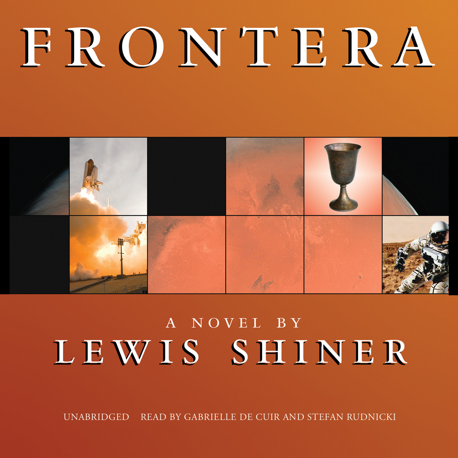 Printable Frontera Audiobook Cover Art