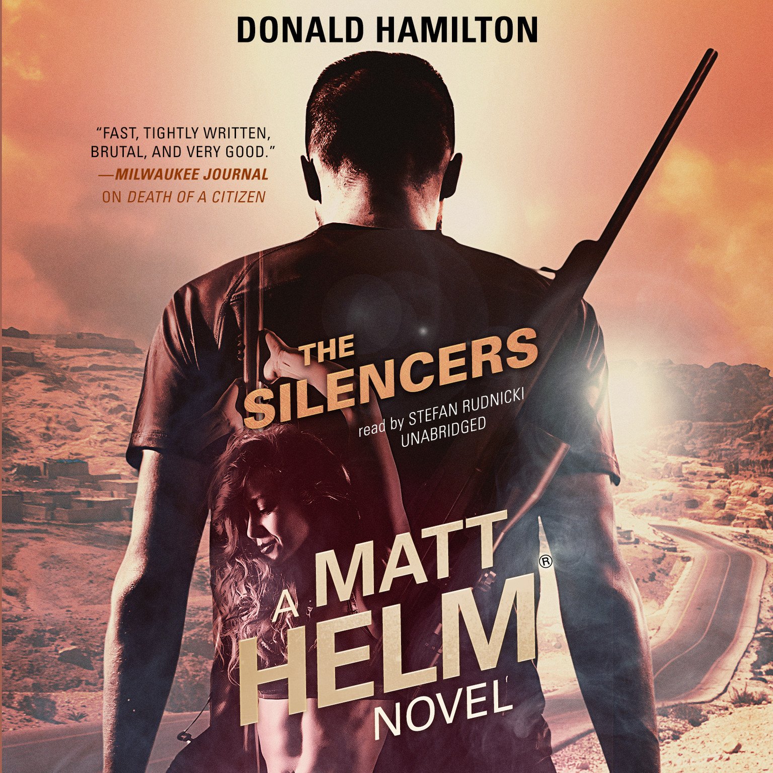 Printable The Silencers: A Matt Helm Novel Audiobook Cover Art