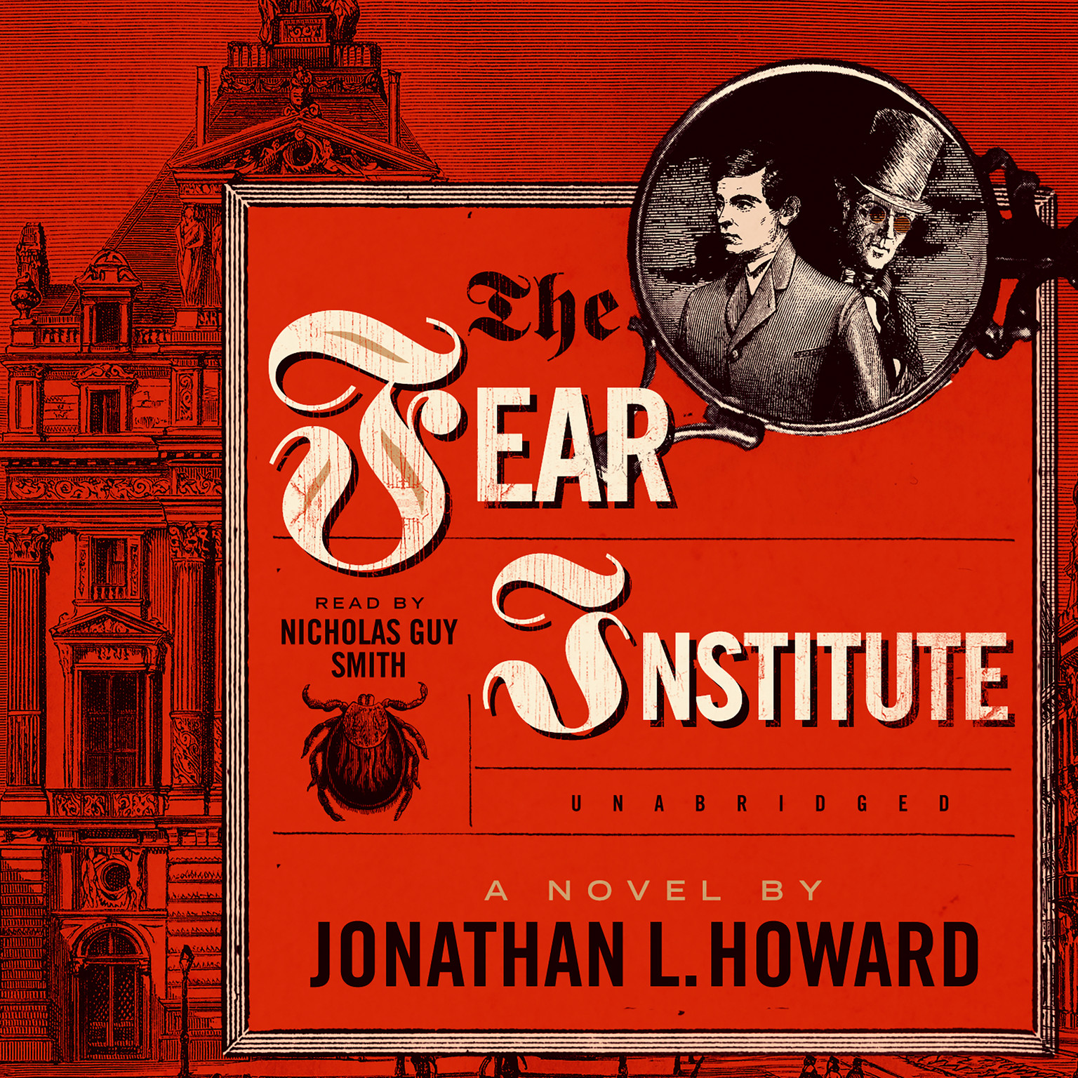 Printable The Fear Institute Audiobook Cover Art