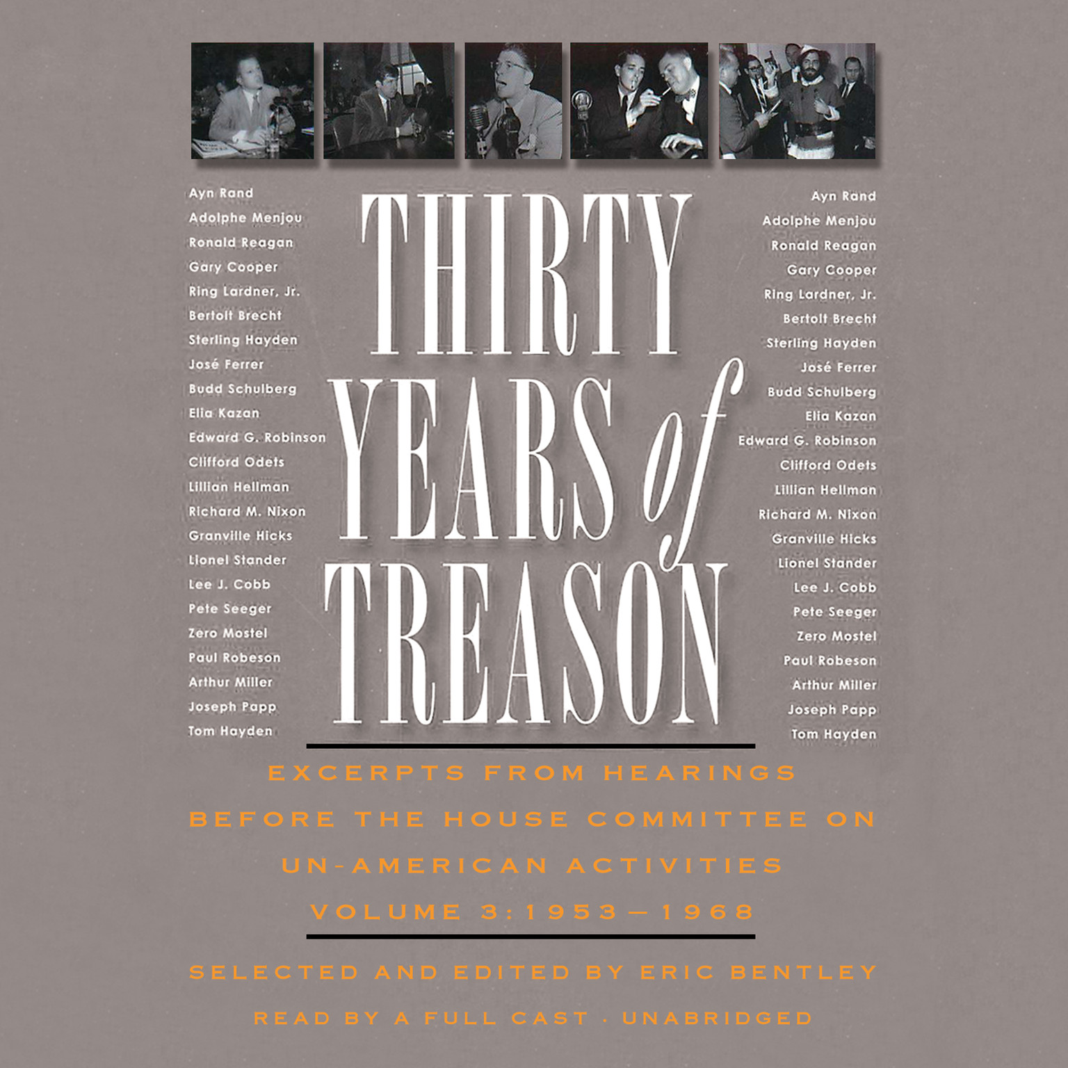 Printable Thirty Years of Treason, Vol. 3: Excerpts from Hearings before the House Committee on Un-American Activities, 1953–1968 Audiobook Cover Art