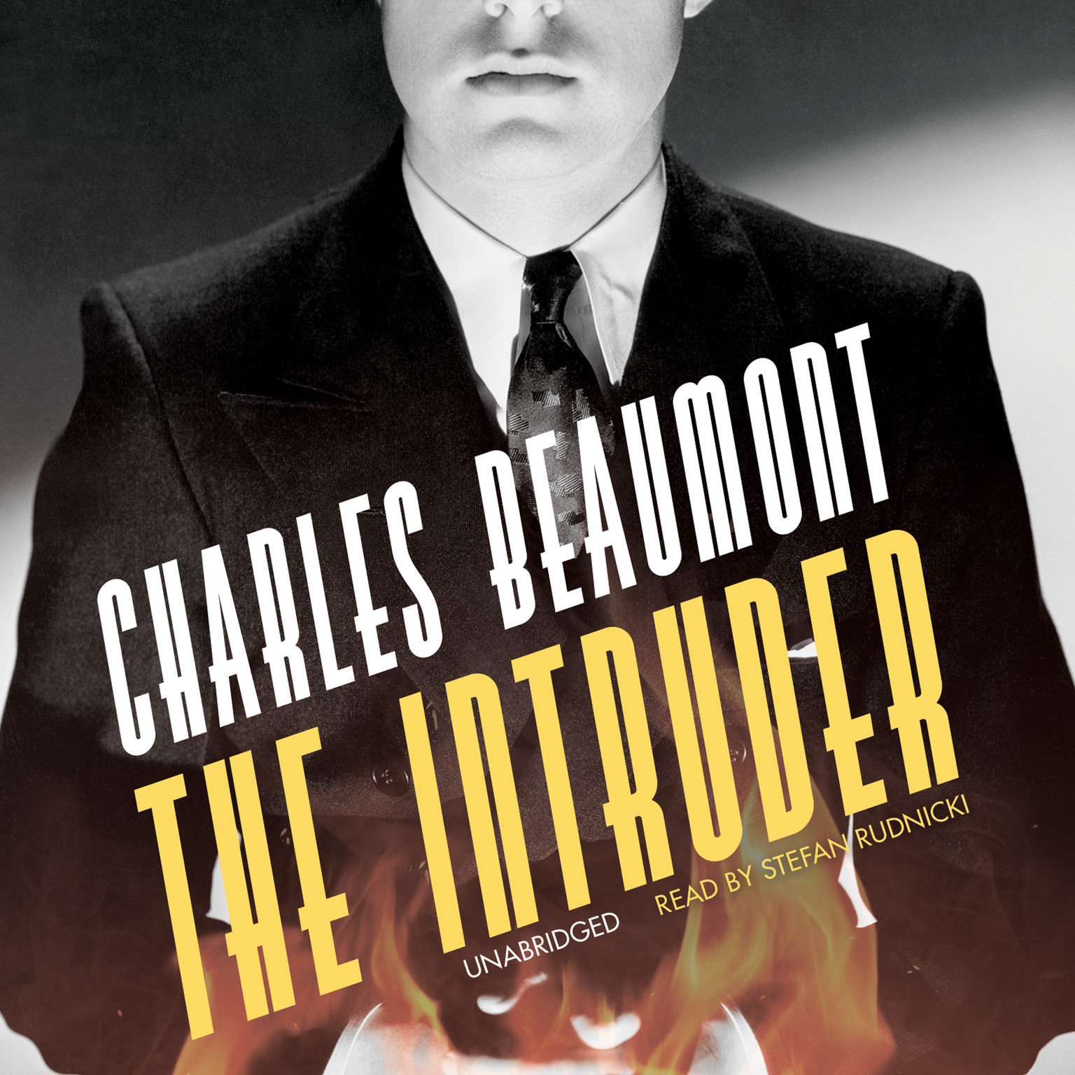Printable The Intruder Audiobook Cover Art