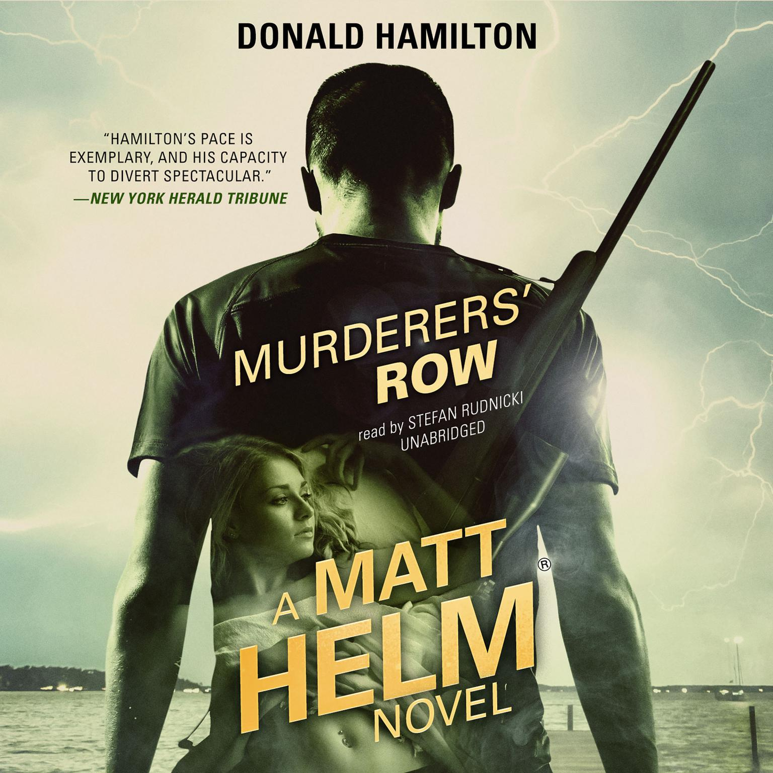 Printable Murderers' Row Audiobook Cover Art