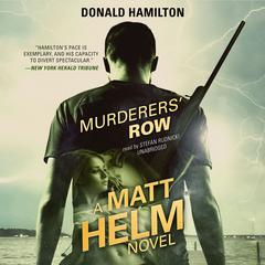 Murderers' Row Audiobook, by Donald Hamilton