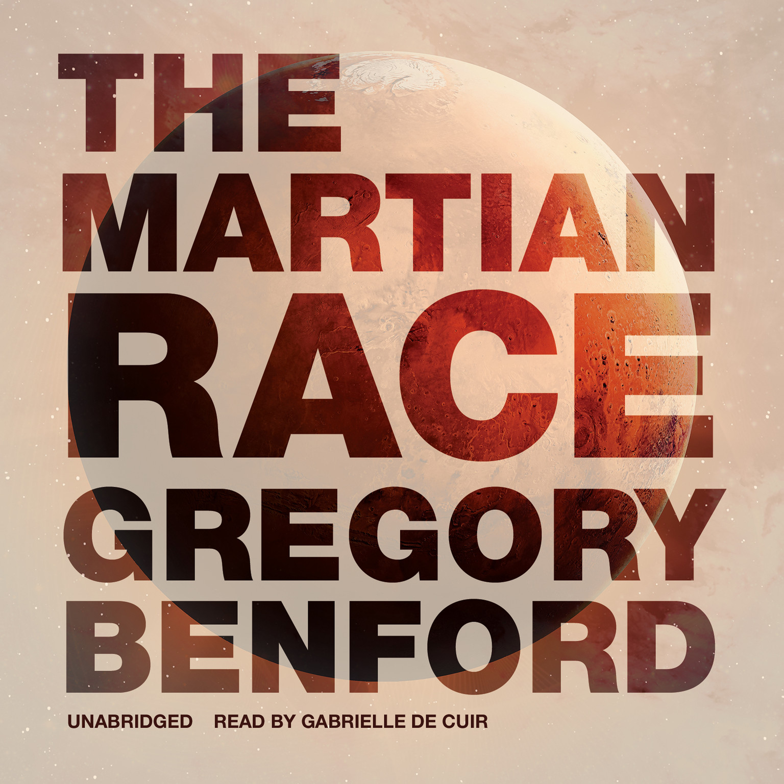Printable The Martian Race Audiobook Cover Art