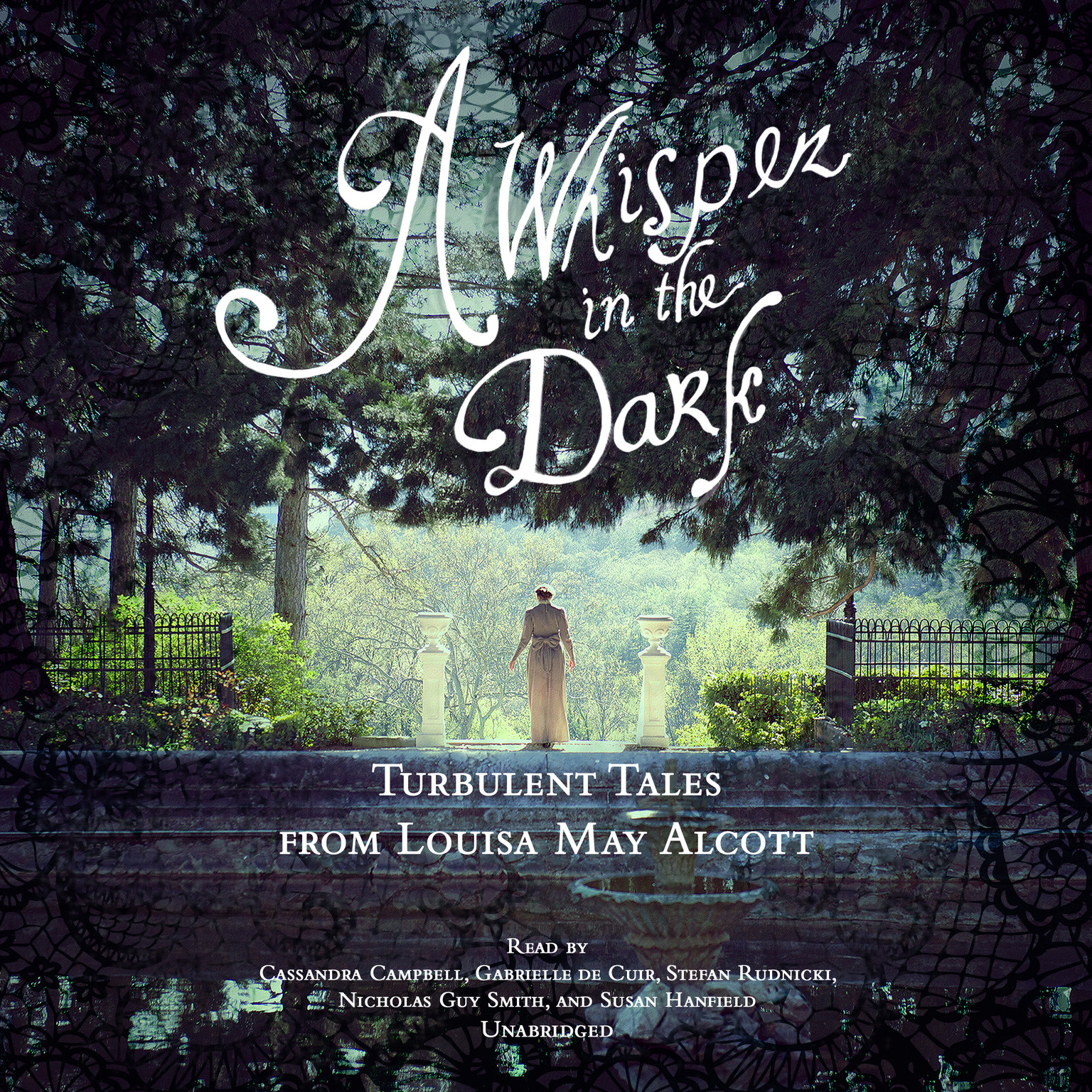 Printable A Whisper in the Dark: Turbulent Tales from Louisa May Alcott Audiobook Cover Art
