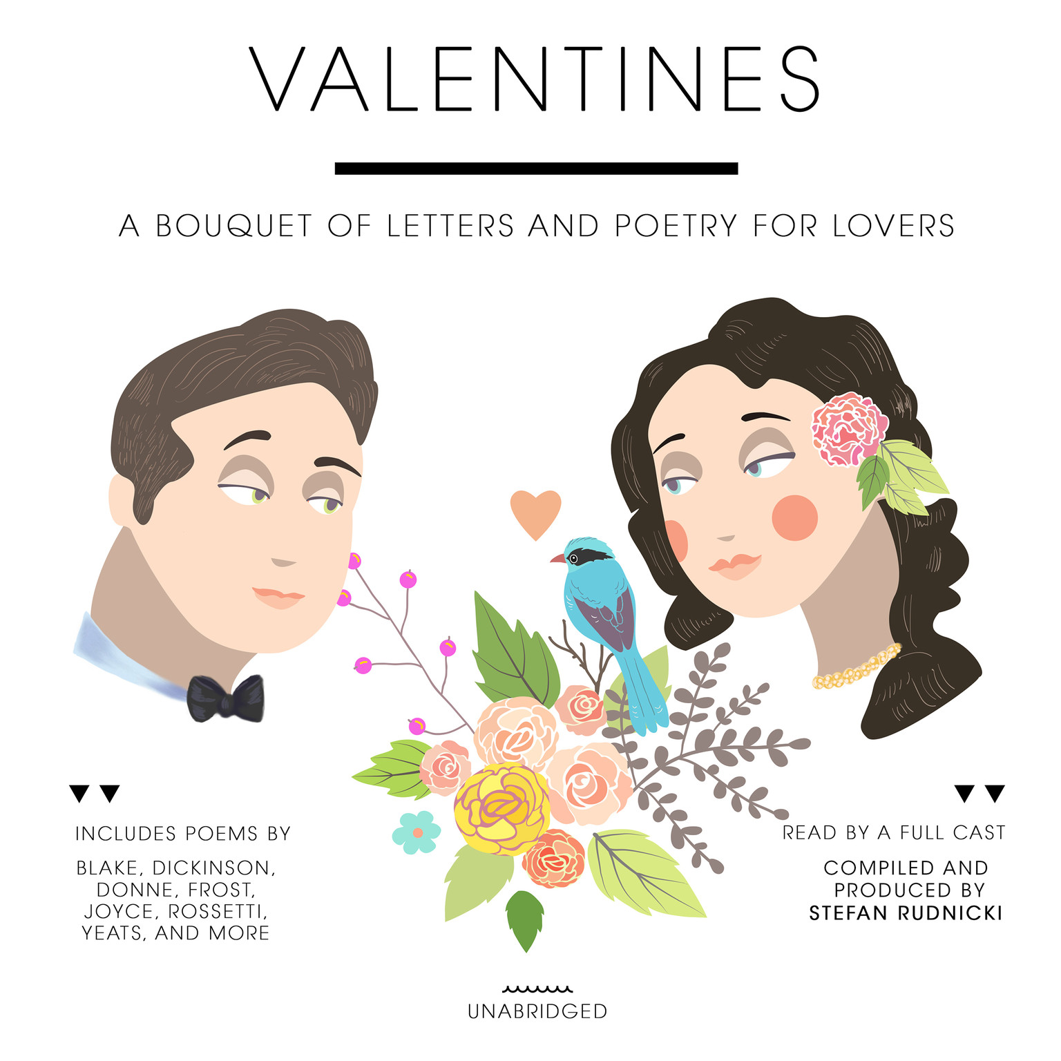 Printable Valentines: A Bouquet of Letters and Poetry for Lovers Audiobook Cover Art