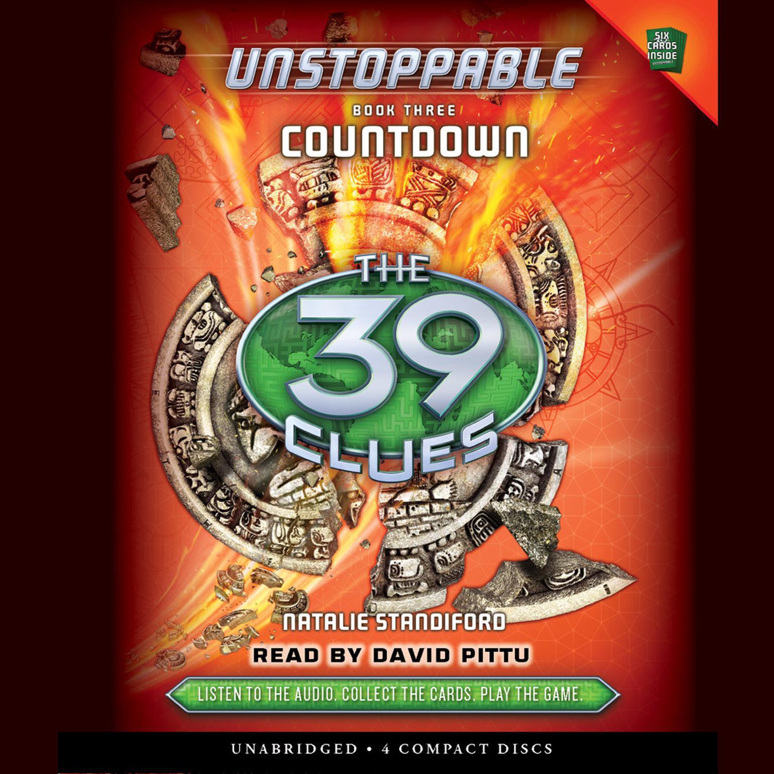 Printable Countdown Audiobook Cover Art