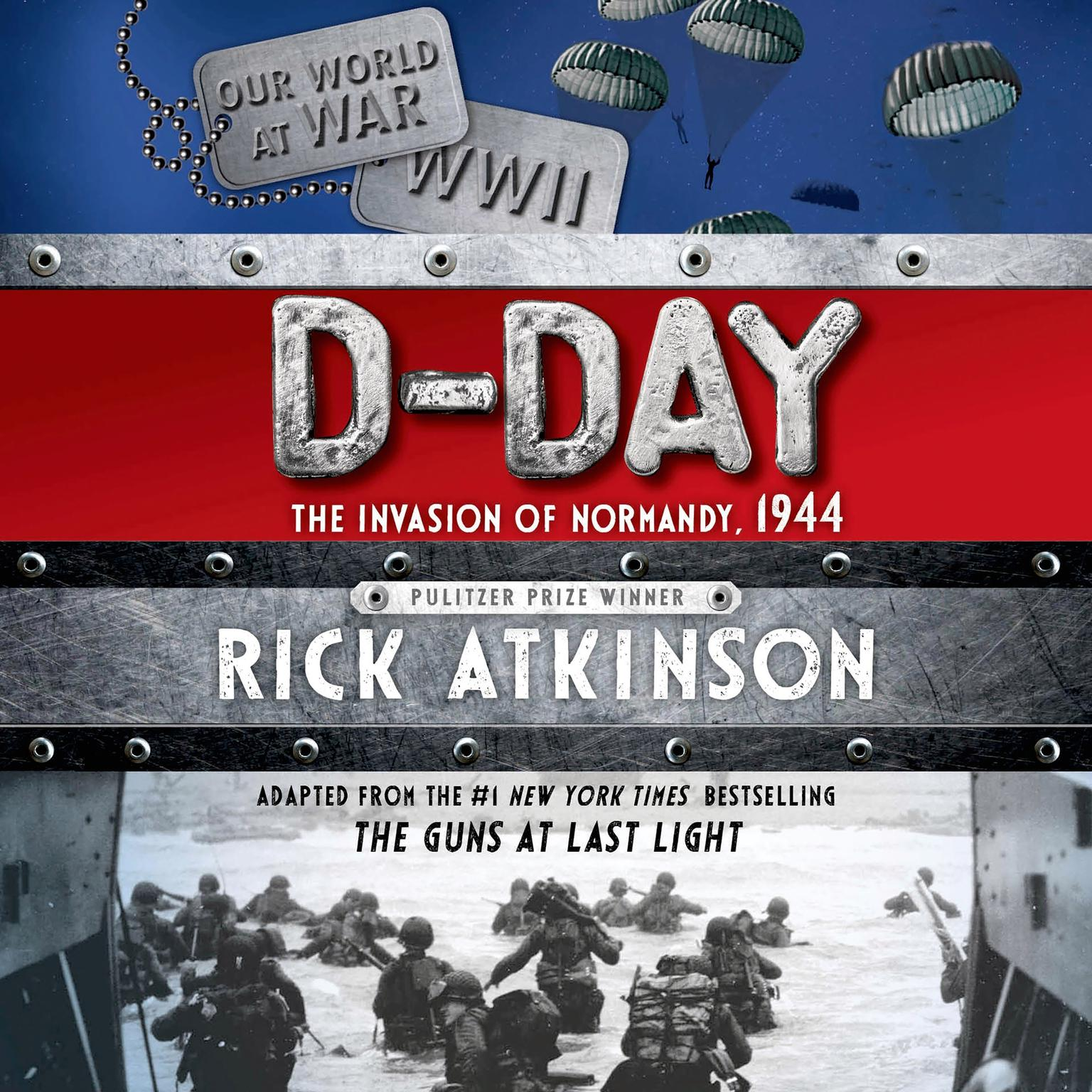 Printable D-Day: The Invasion of Normandy, 1944 [The Young Readers Adaptation] Audiobook Cover Art
