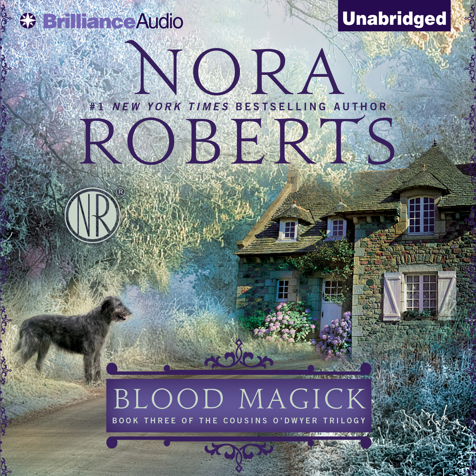 Printable Blood Magick Audiobook Cover Art