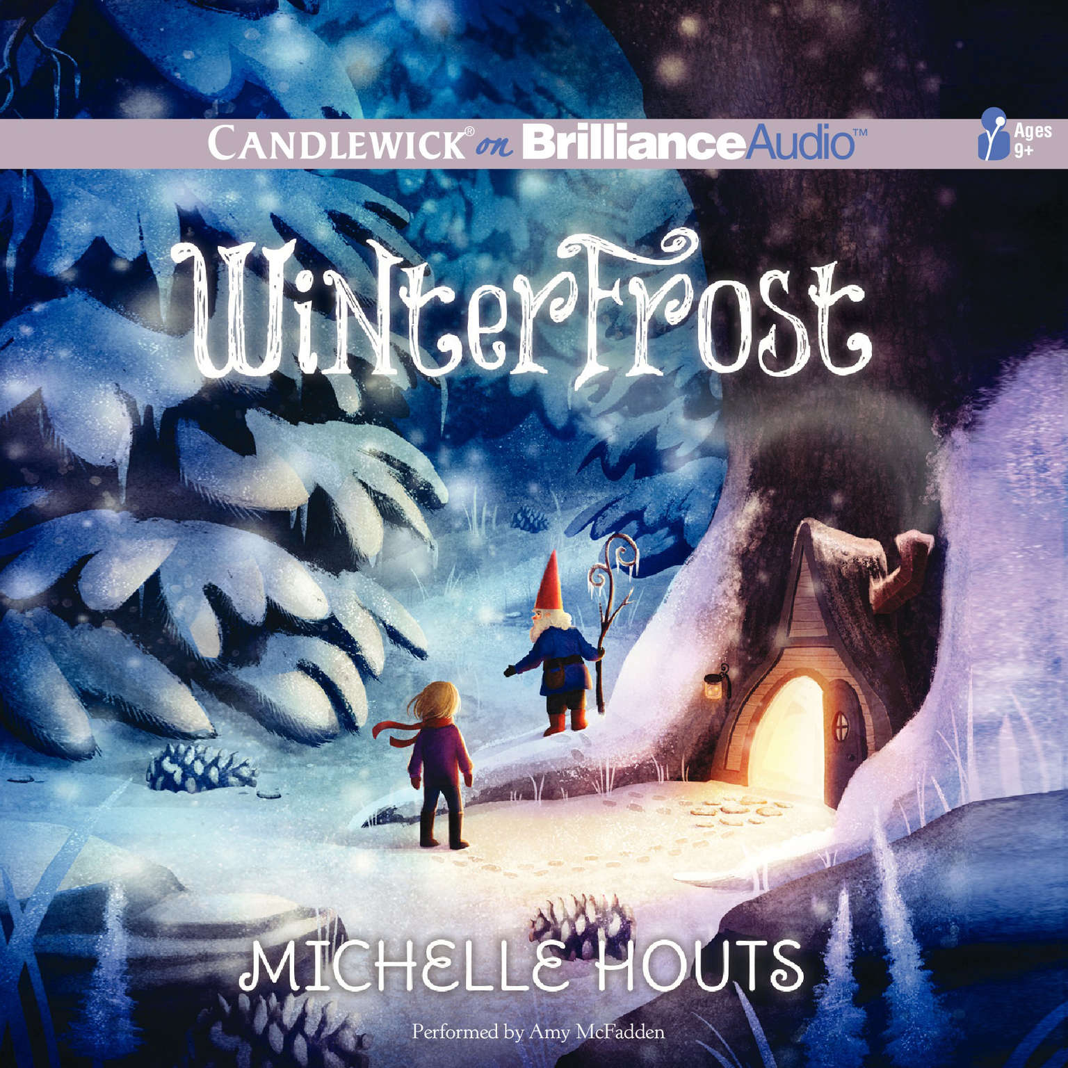 Printable Winterfrost Audiobook Cover Art