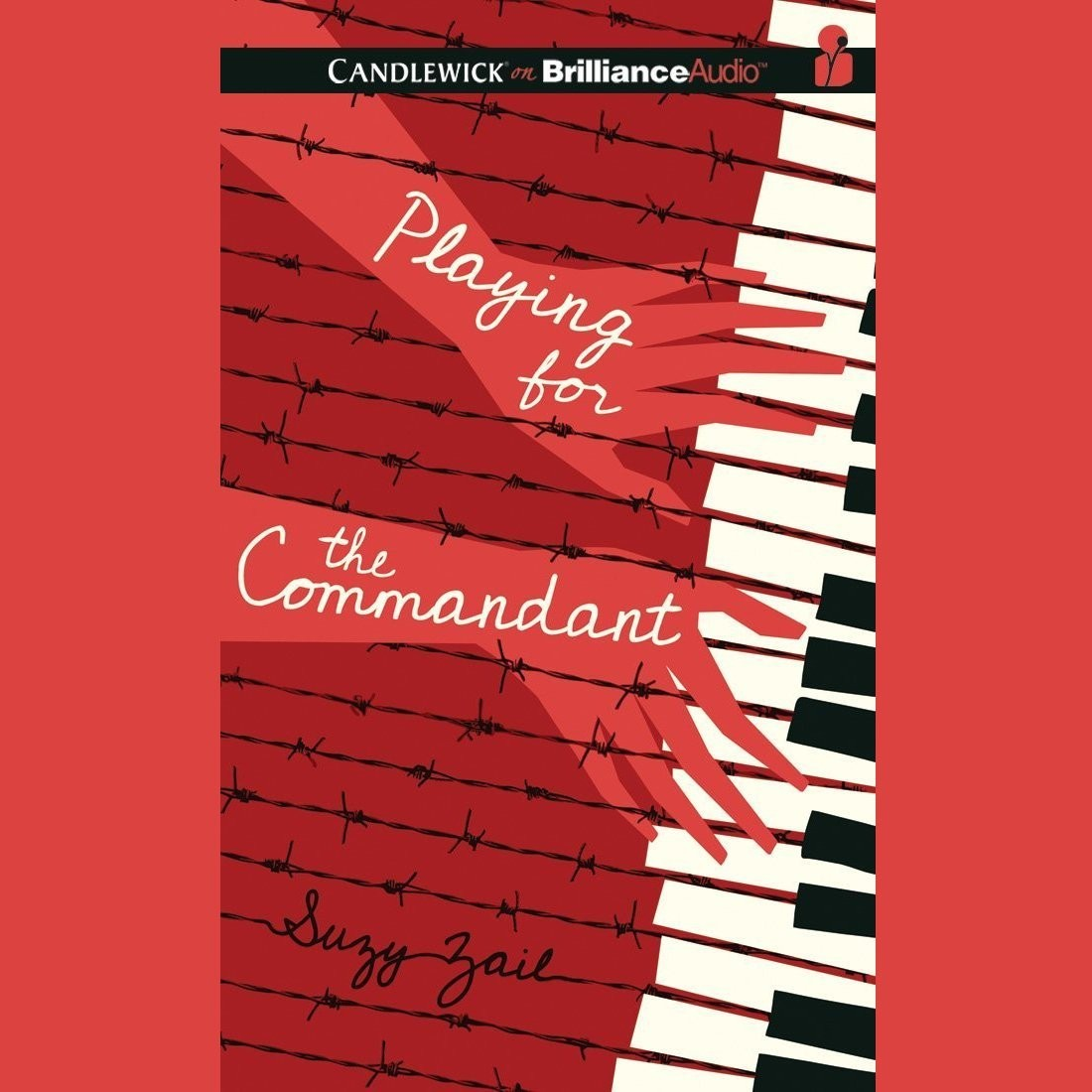 Printable Playing for the Commandant Audiobook Cover Art