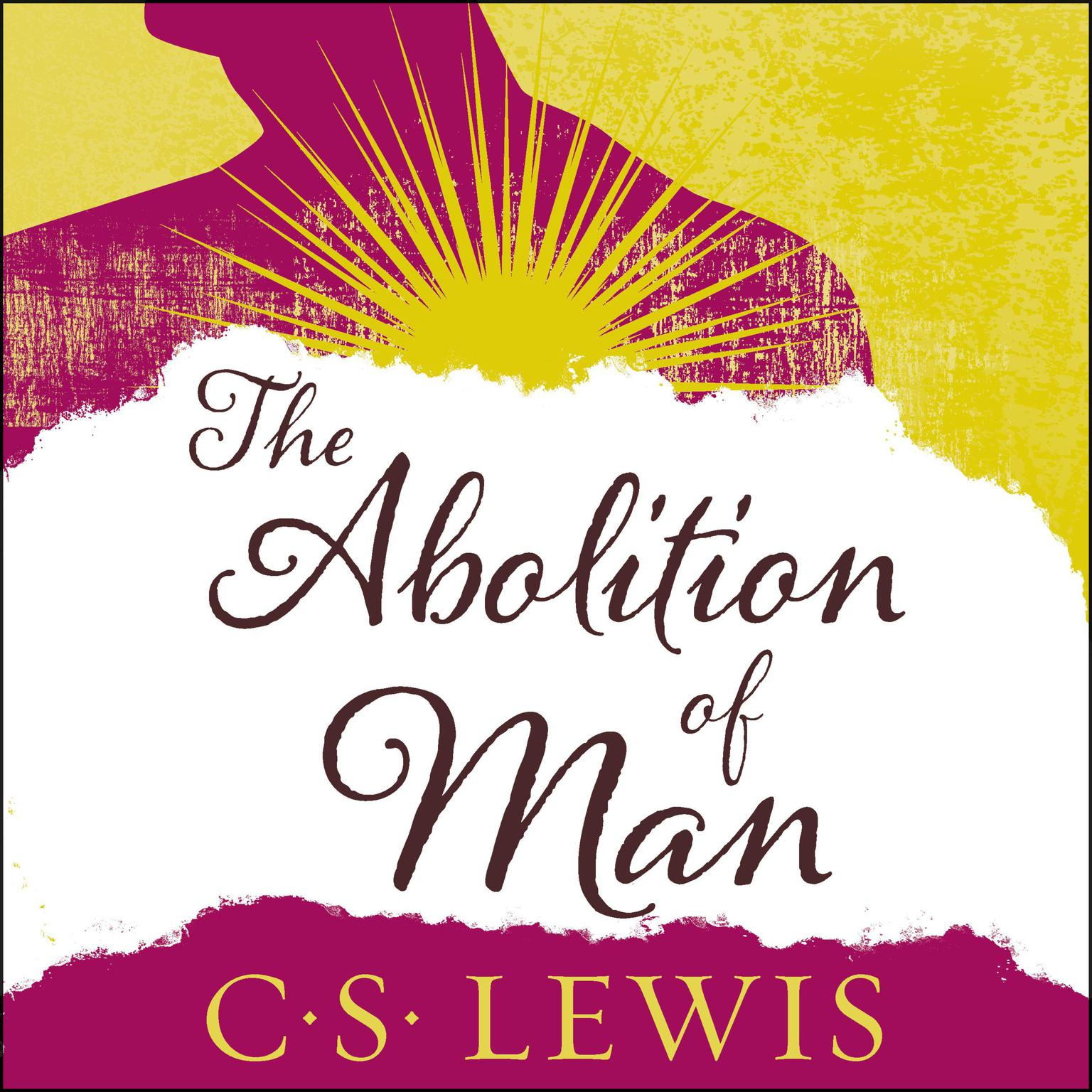 Printable The Abolition of Man Audiobook Cover Art