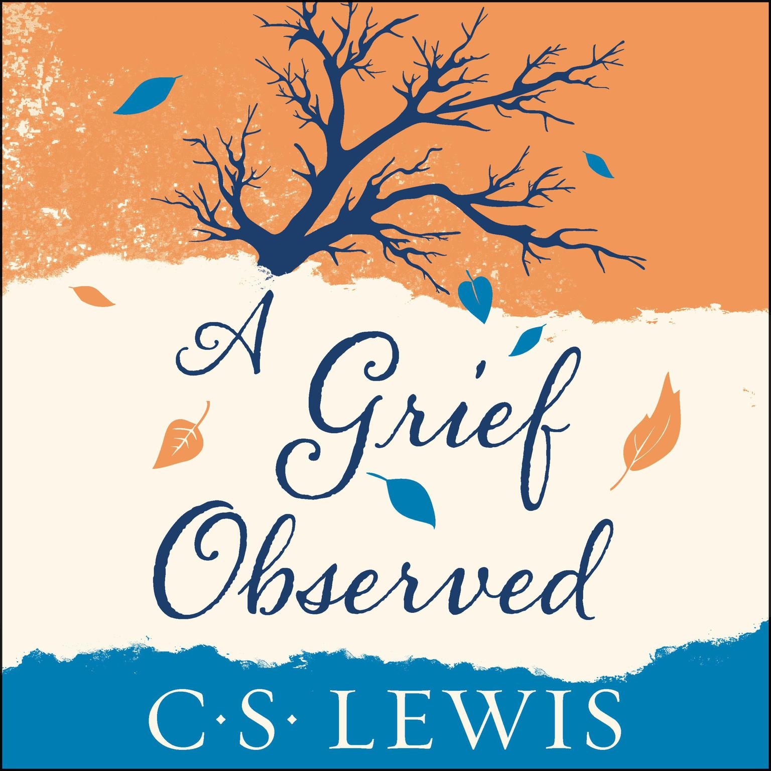 Printable A Grief Observed Audiobook Cover Art
