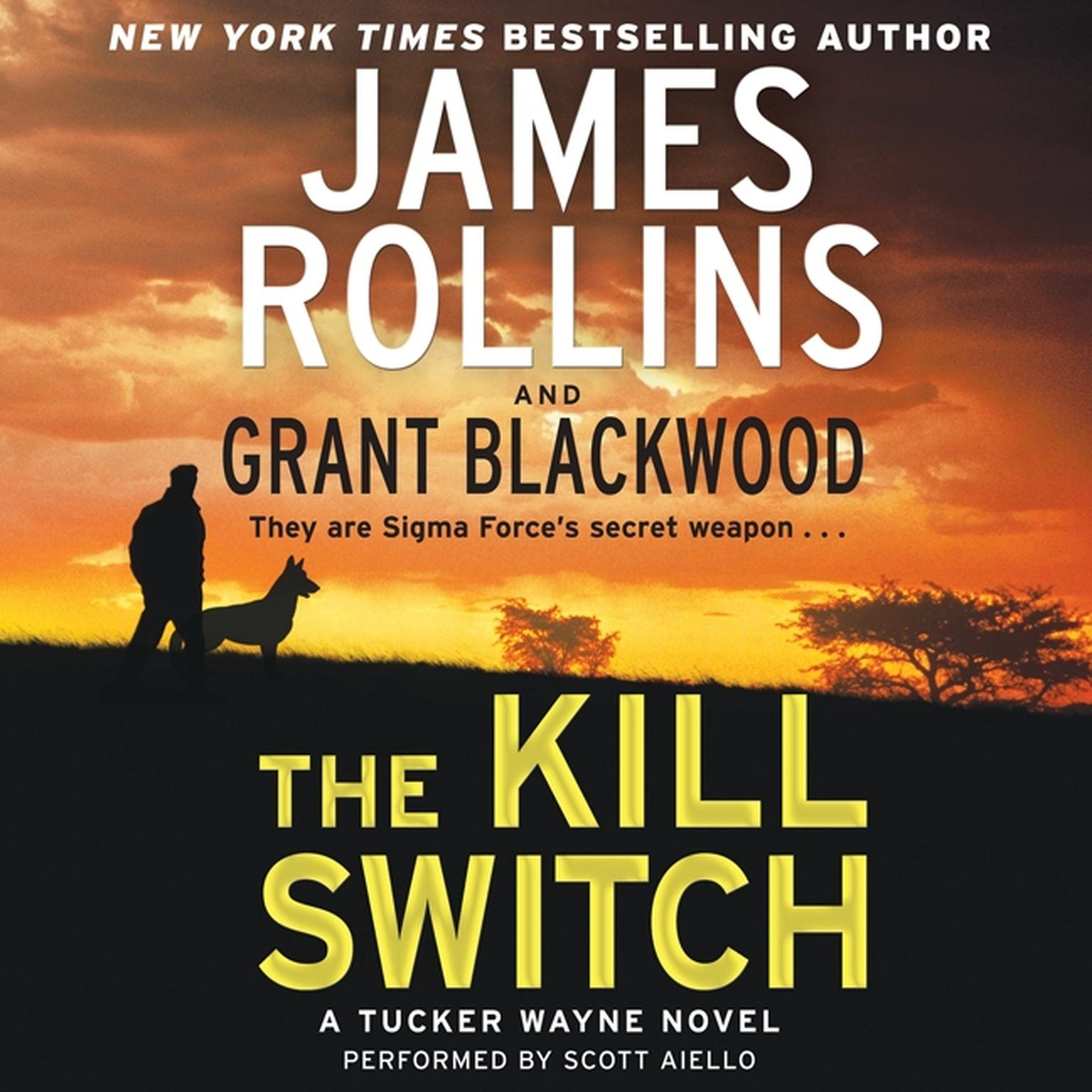 Printable The Kill Switch: A Tucker Wayne Novel Audiobook Cover Art