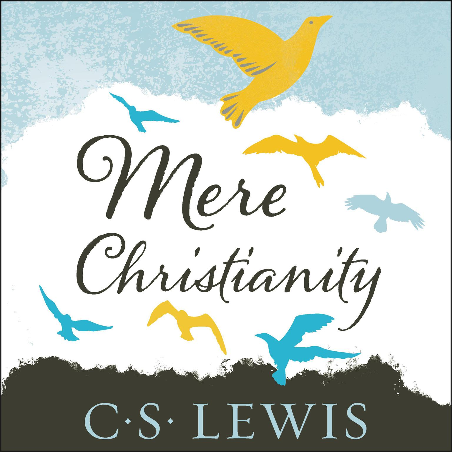 Printable Mere Christianity Audiobook Cover Art