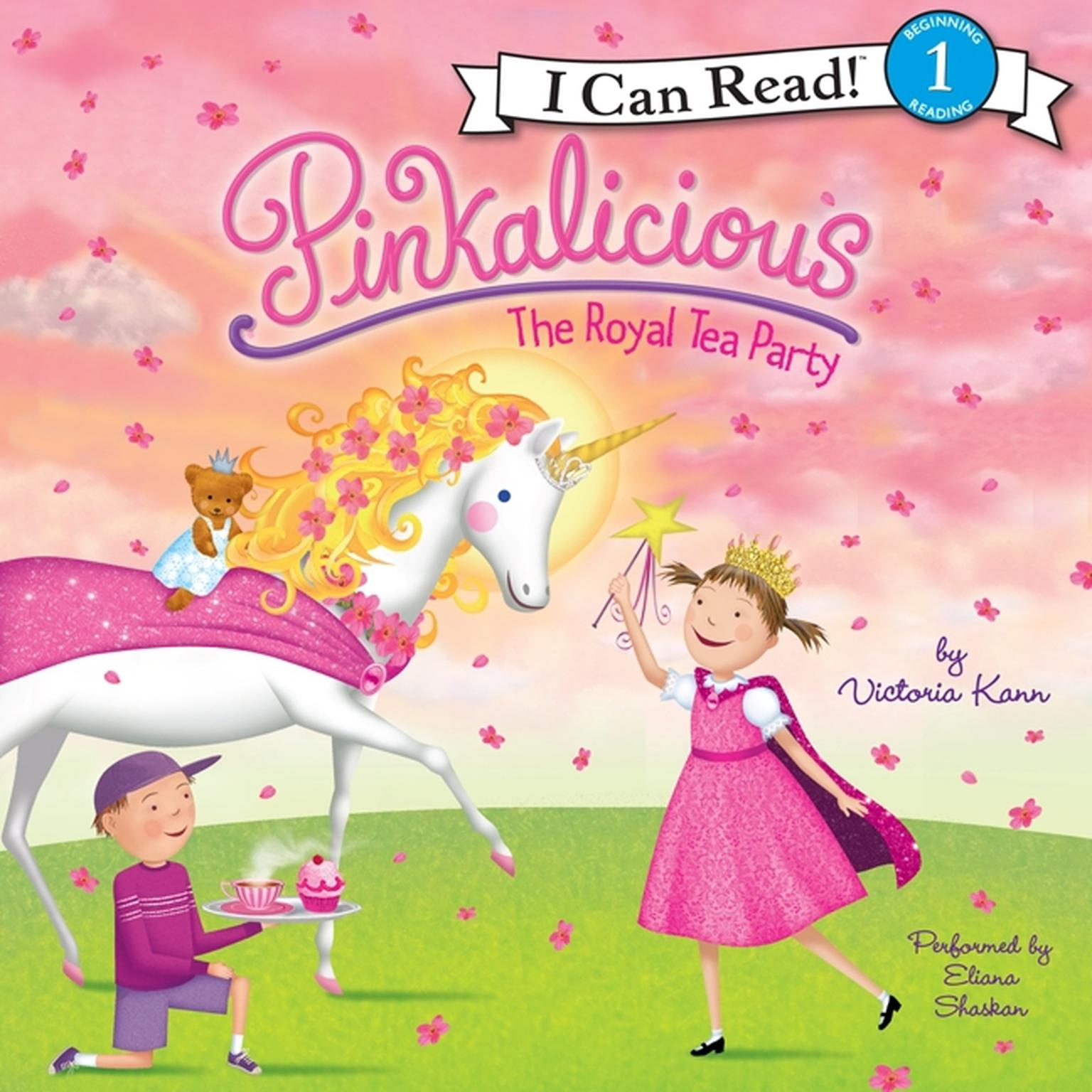 Printable Pinkalicious: The Royal Tea Party Audiobook Cover Art