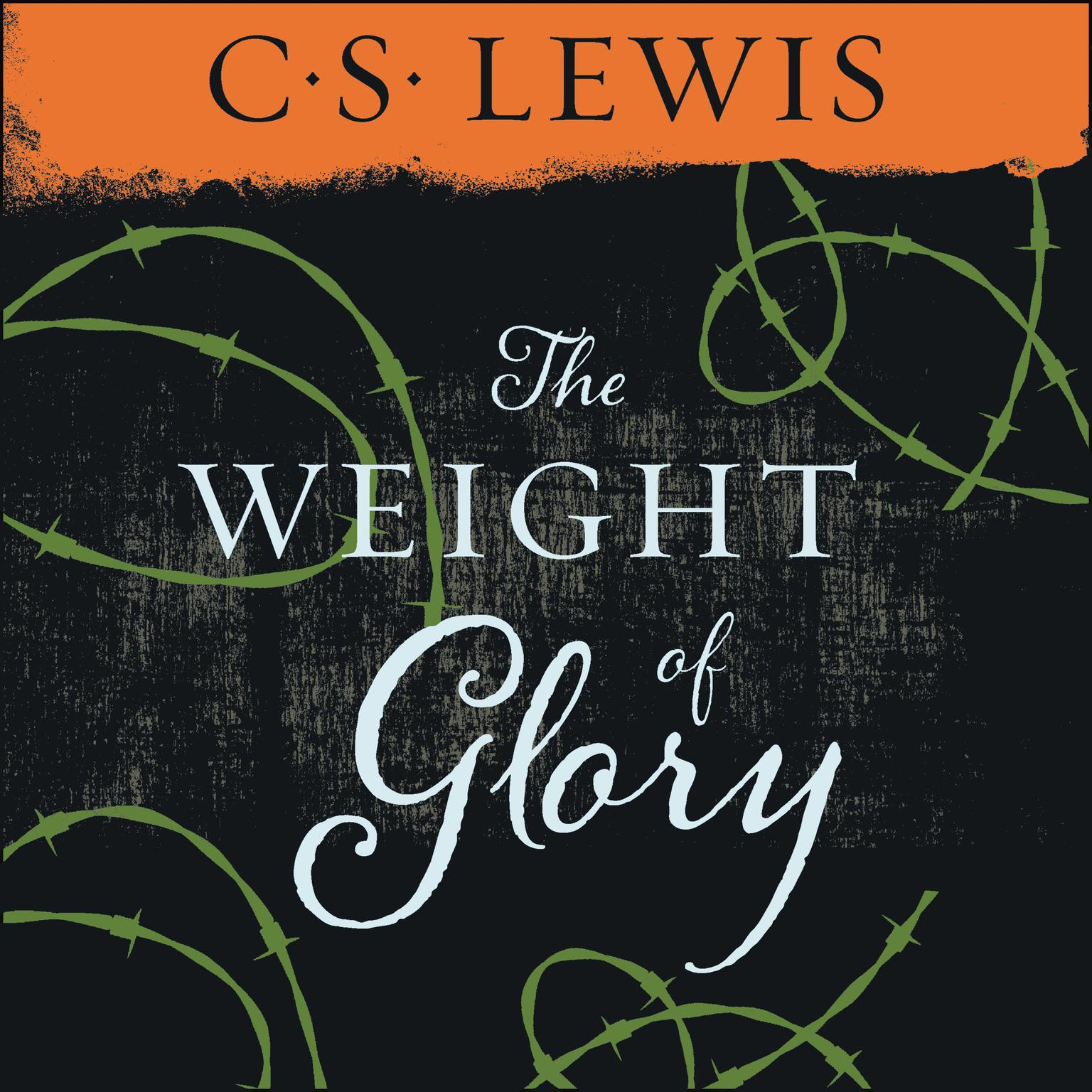 Printable Weight of Glory Audiobook Cover Art