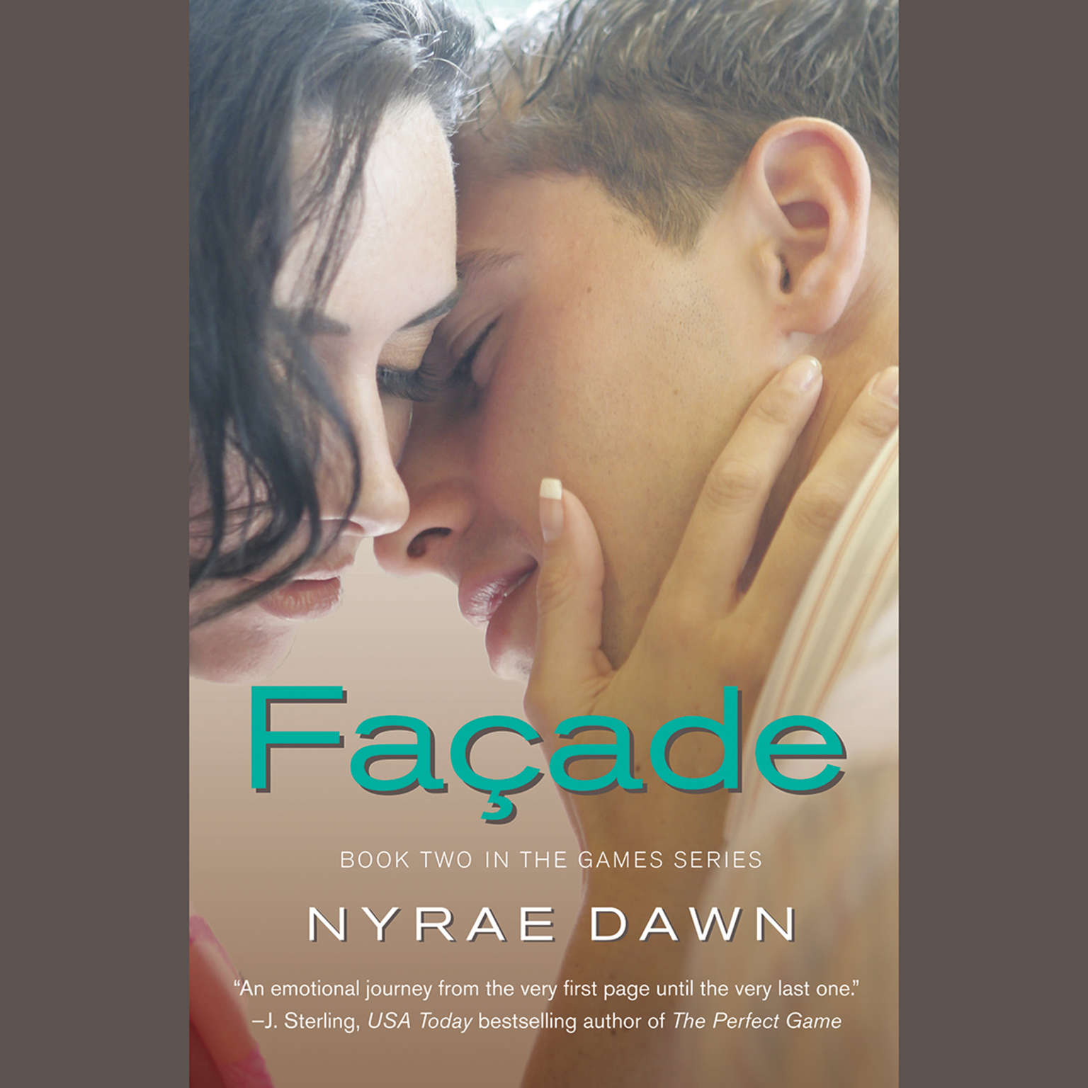 Printable Facade Audiobook Cover Art