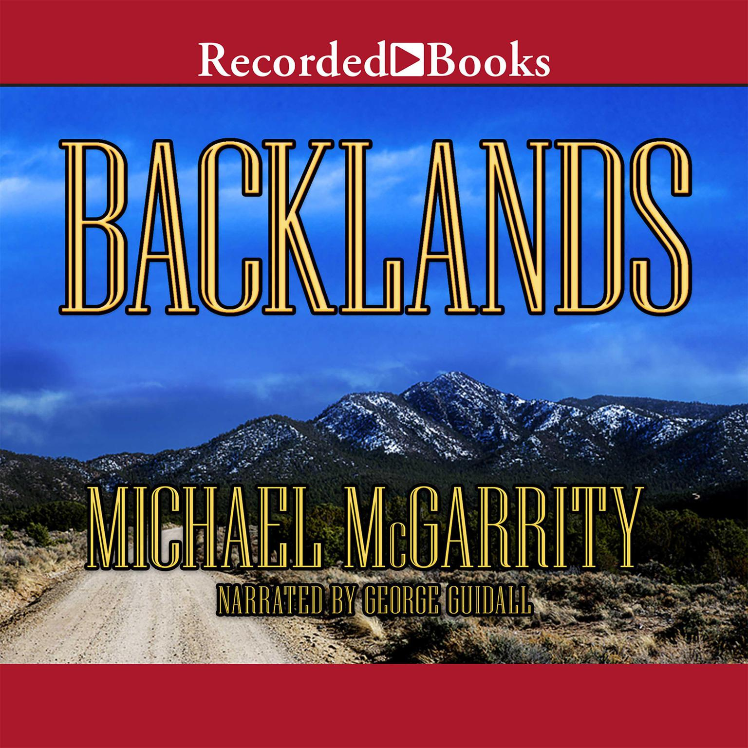 Printable Backlands: A Novel of the American West Audiobook Cover Art