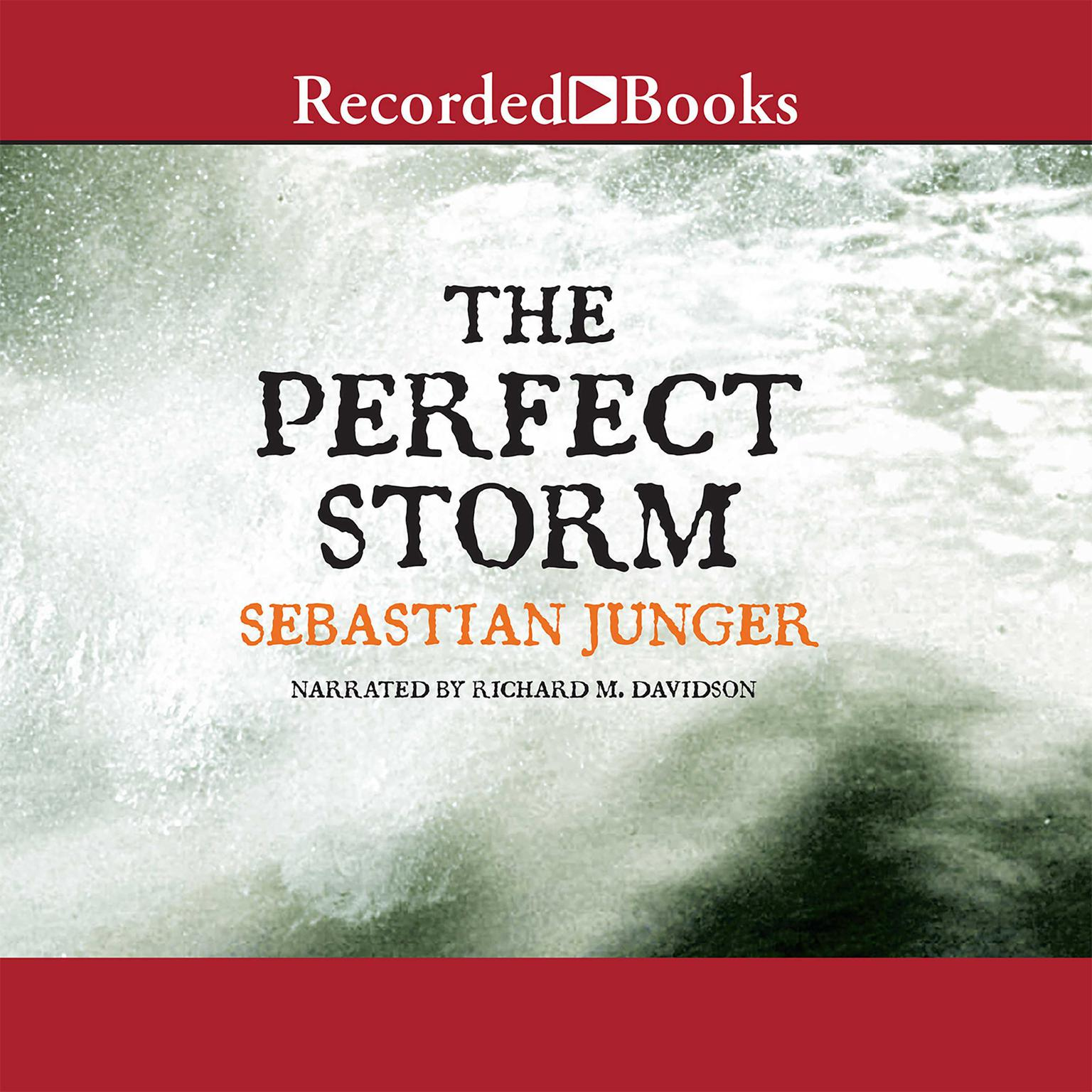 Printable The Perfect Storm: A True Story of Men against the Sea Audiobook Cover Art