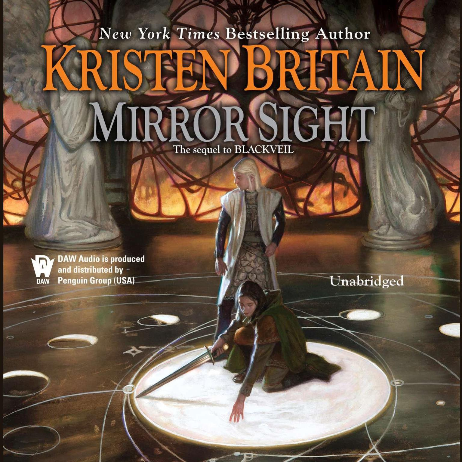 Printable Mirror Sight: Book Five of Green Rider Audiobook Cover Art