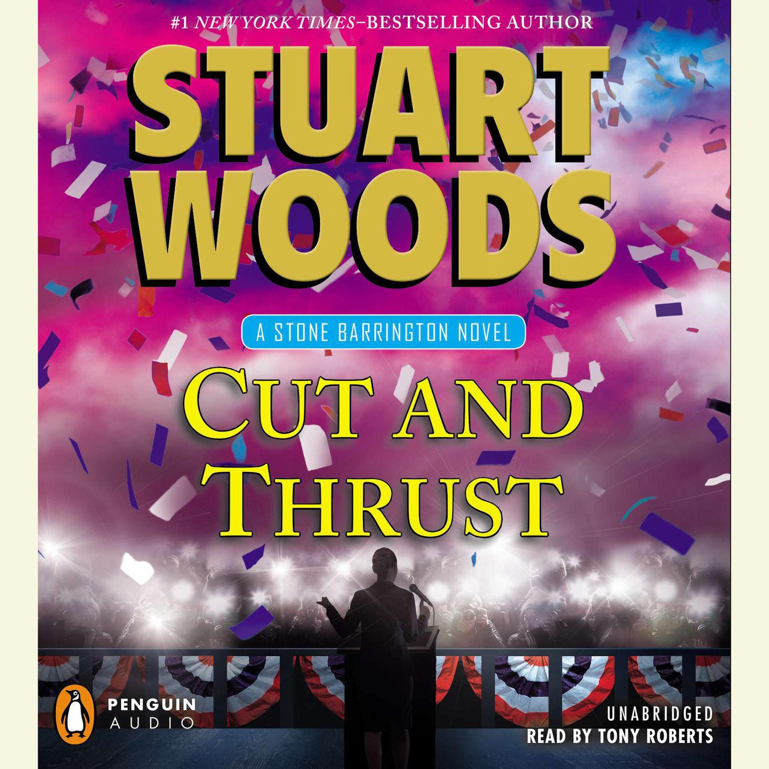Printable Cut and Thrust Audiobook Cover Art