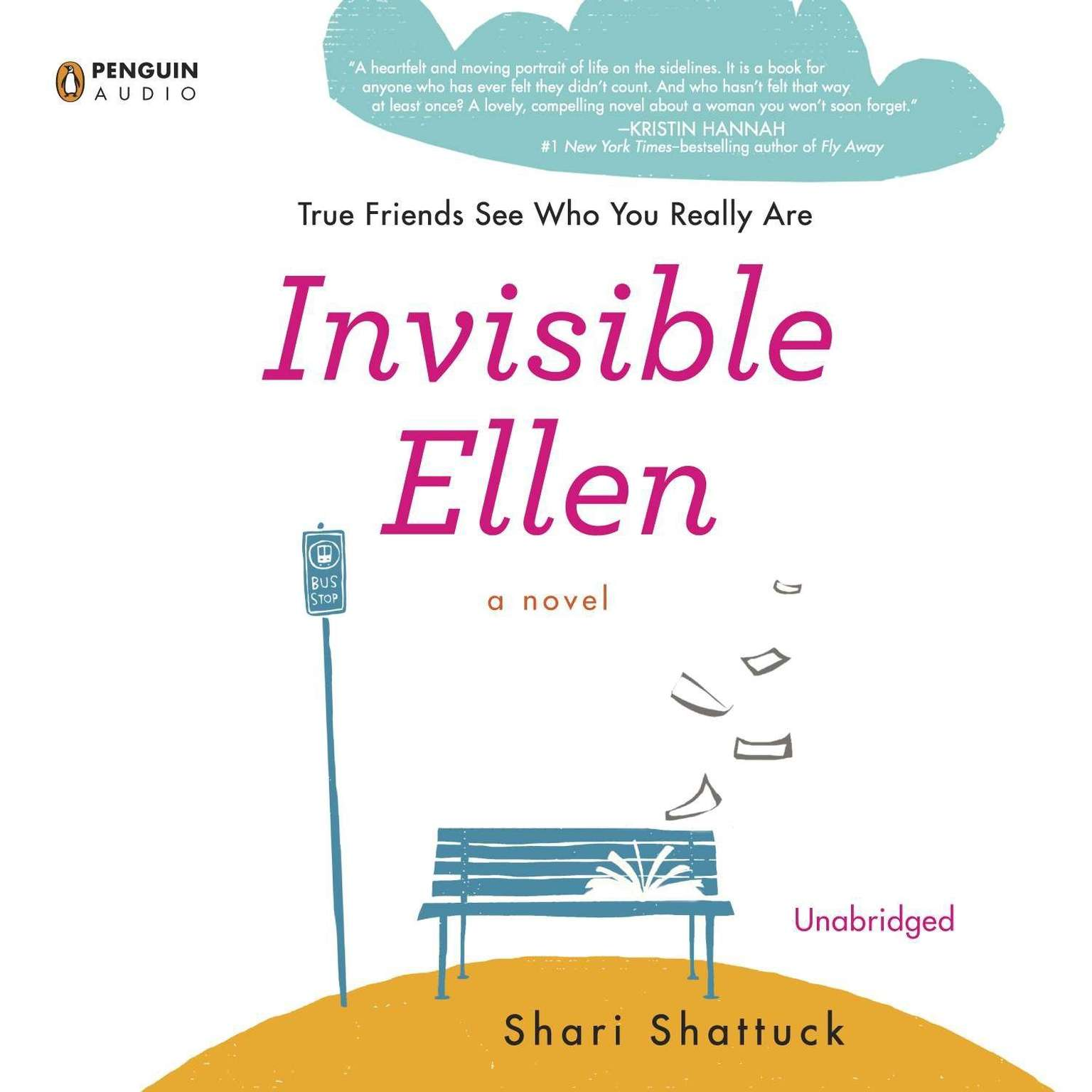Printable Invisible Ellen Audiobook Cover Art