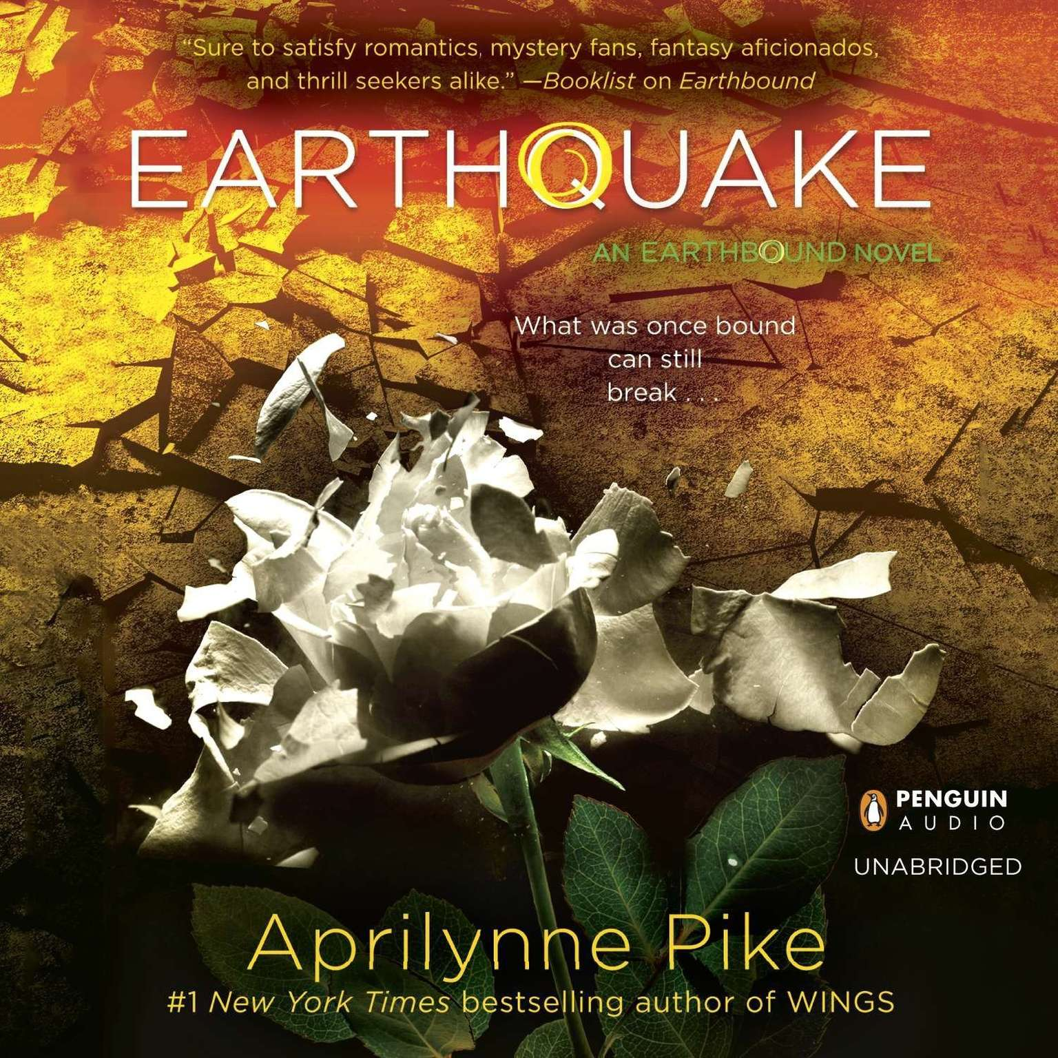 Printable Earthquake Audiobook Cover Art