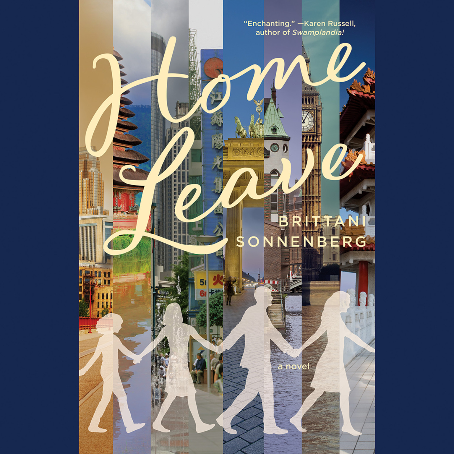 Printable Home Leave: A Novel Audiobook Cover Art