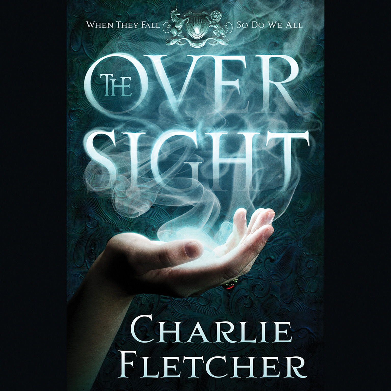 Printable The Oversight Audiobook Cover Art