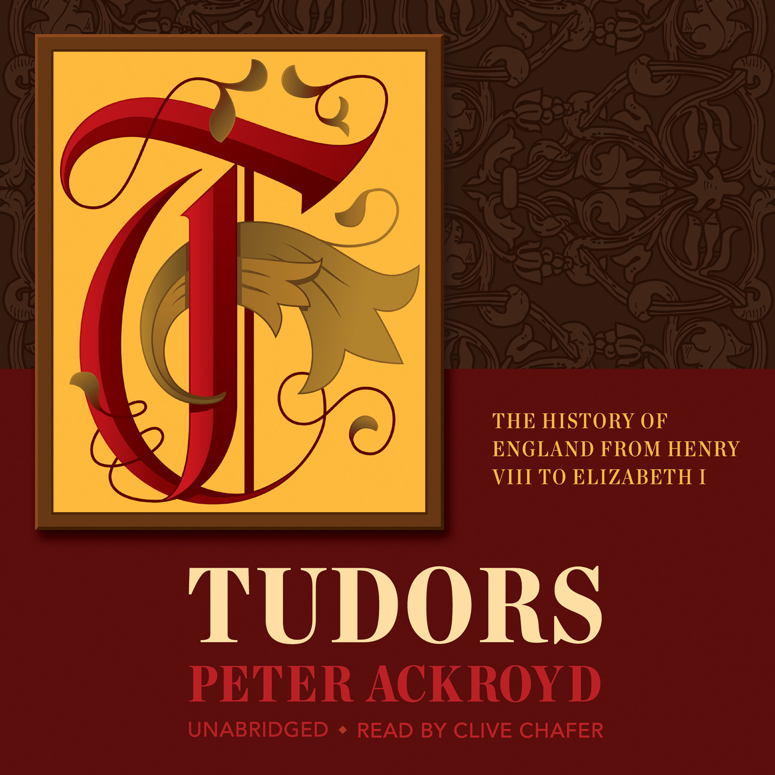 Printable Tudors: The History of England from Henry VIII to Elizabeth I Audiobook Cover Art