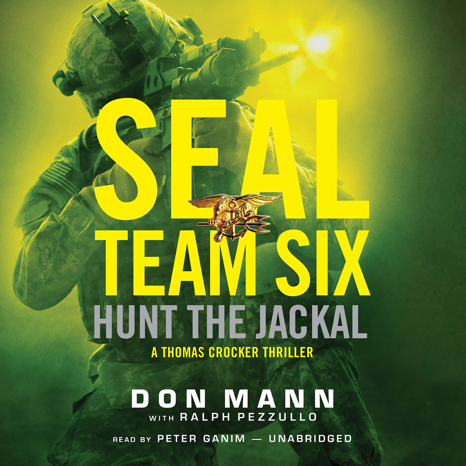 Printable SEAL Team Six: Hunt the Jackal Audiobook Cover Art