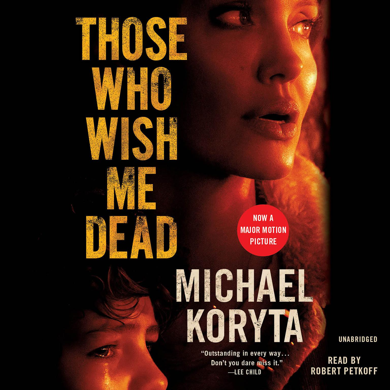 Printable Those Who Wish Me Dead Audiobook Cover Art